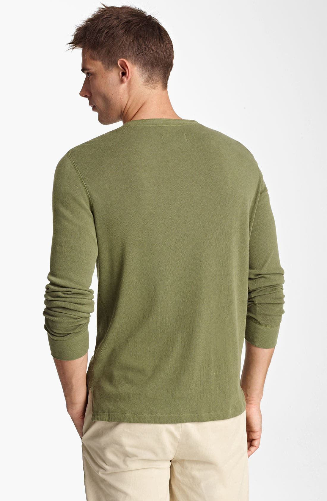 Alternate Image 2  - Jack Spade Cotton Henley