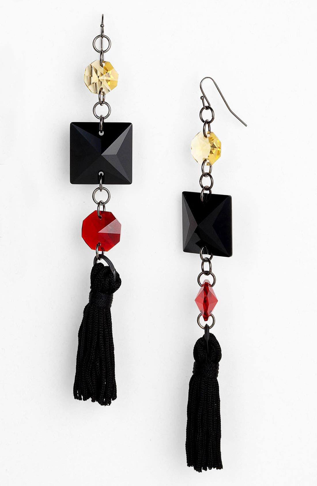 Alternate Image 1 Selected - Bonnie Jonas Multi Stone Tassel Earrings