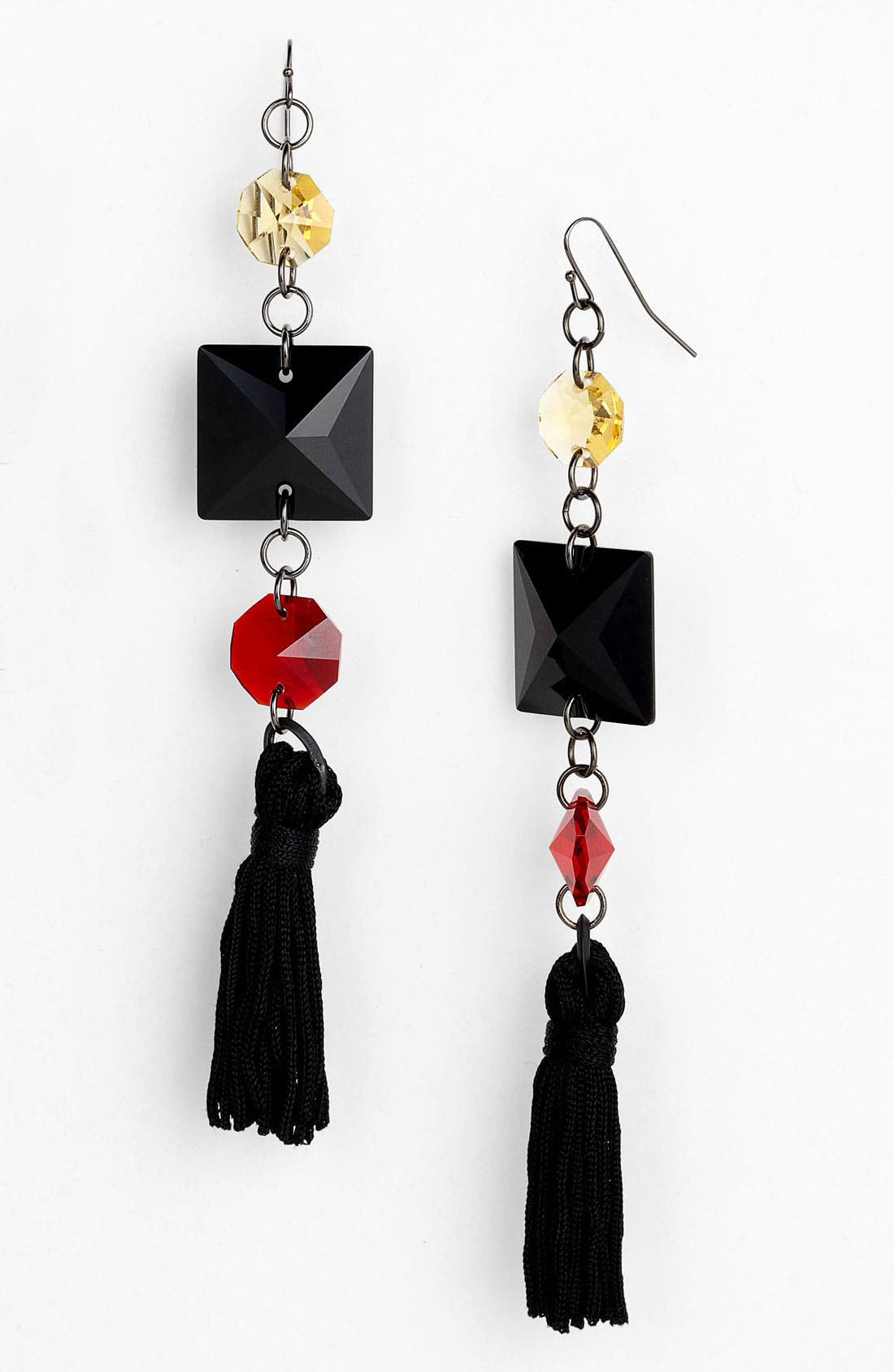 Main Image - Bonnie Jonas Multi Stone Tassel Earrings