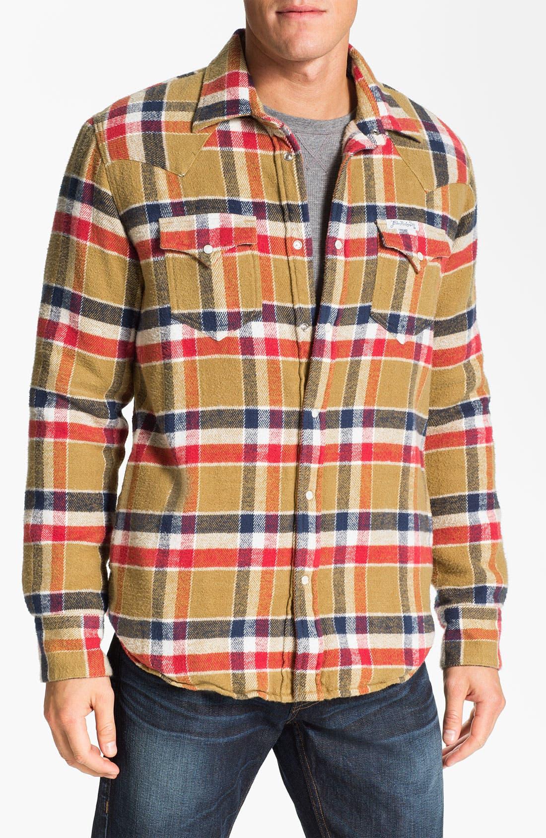 Main Image - True Religion Brand Jeans Plaid Flannel Shirt Jacket