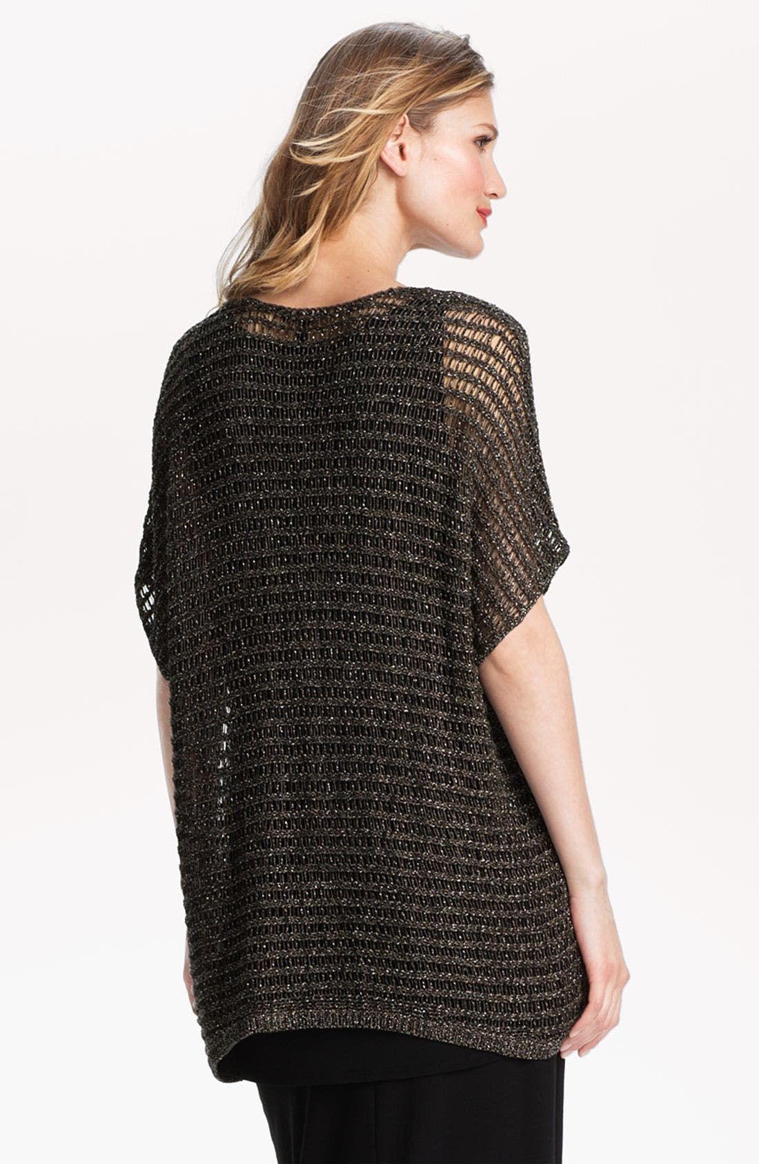 Alternate Image 2  - Eileen Fisher Sparkle Mesh Tunic