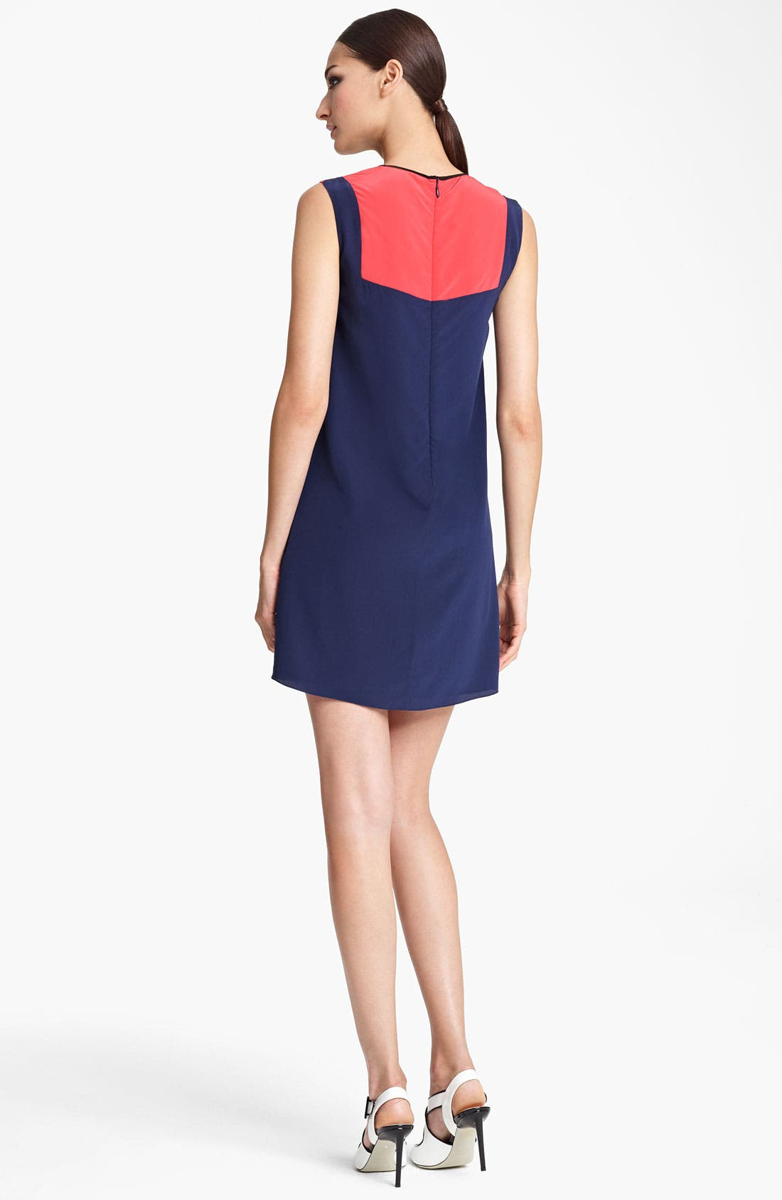 Alternate Image 2  - Jason Wu Colorblock Silk Dress