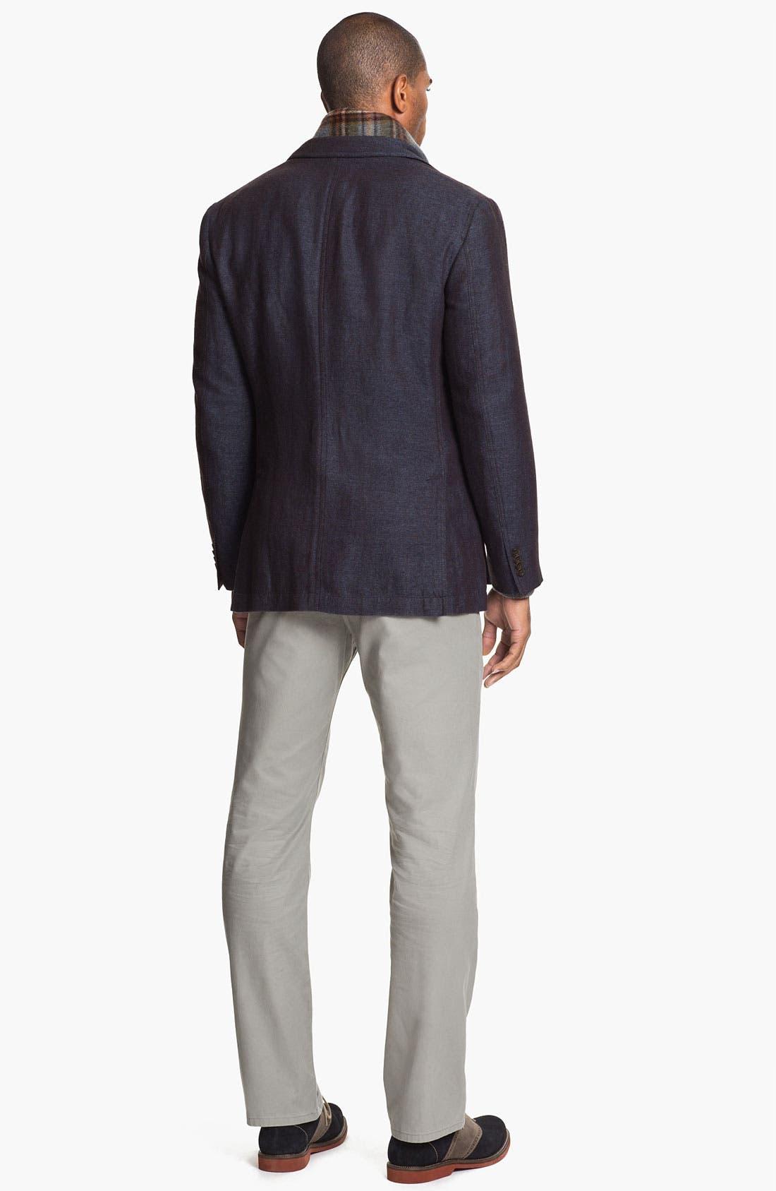 Alternate Image 4  - Kroon 'Waits' Linen & Wool Blend Sportcoat