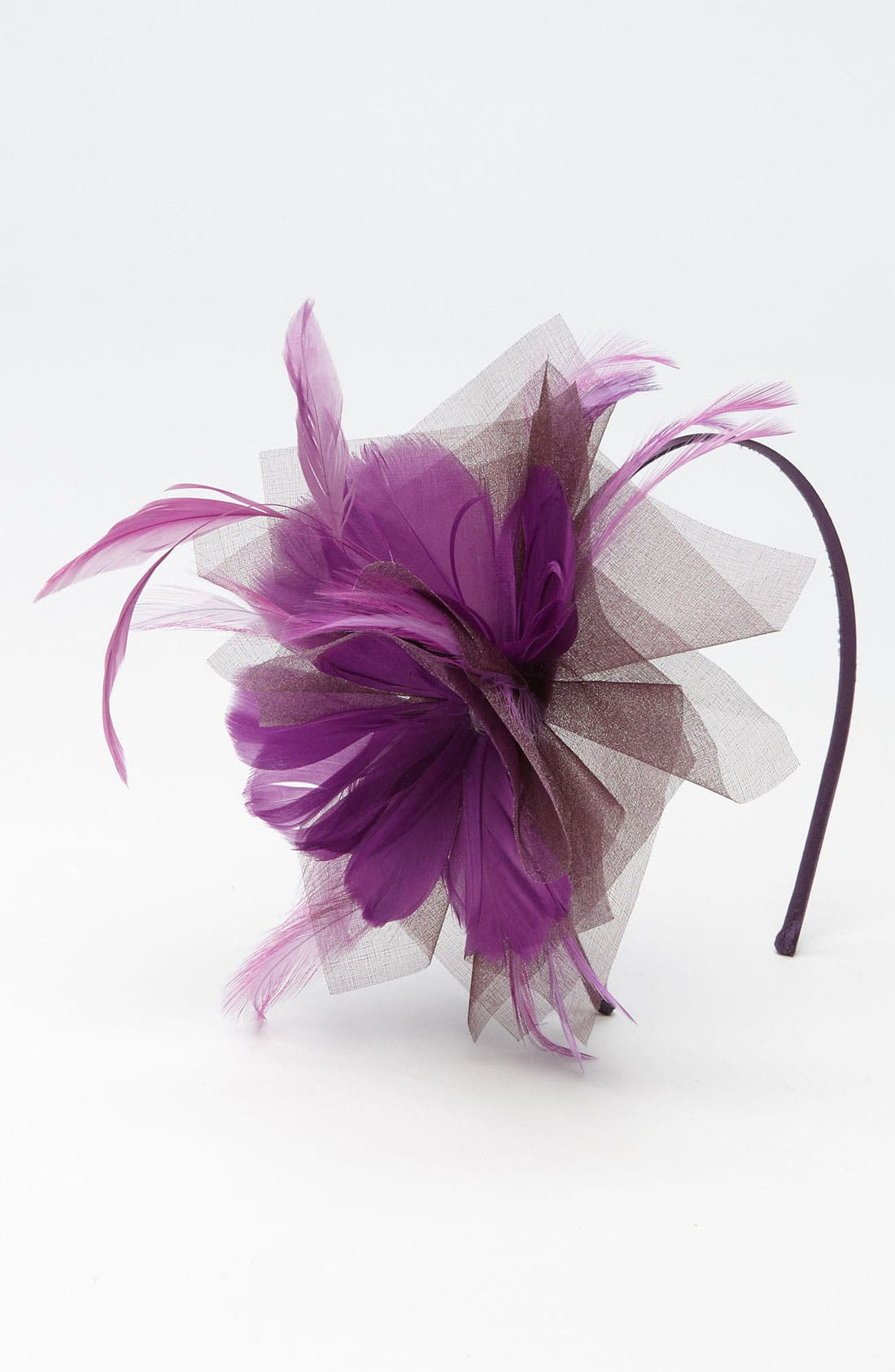 Main Image - The Accessory Collective Feather Headband (Girls)