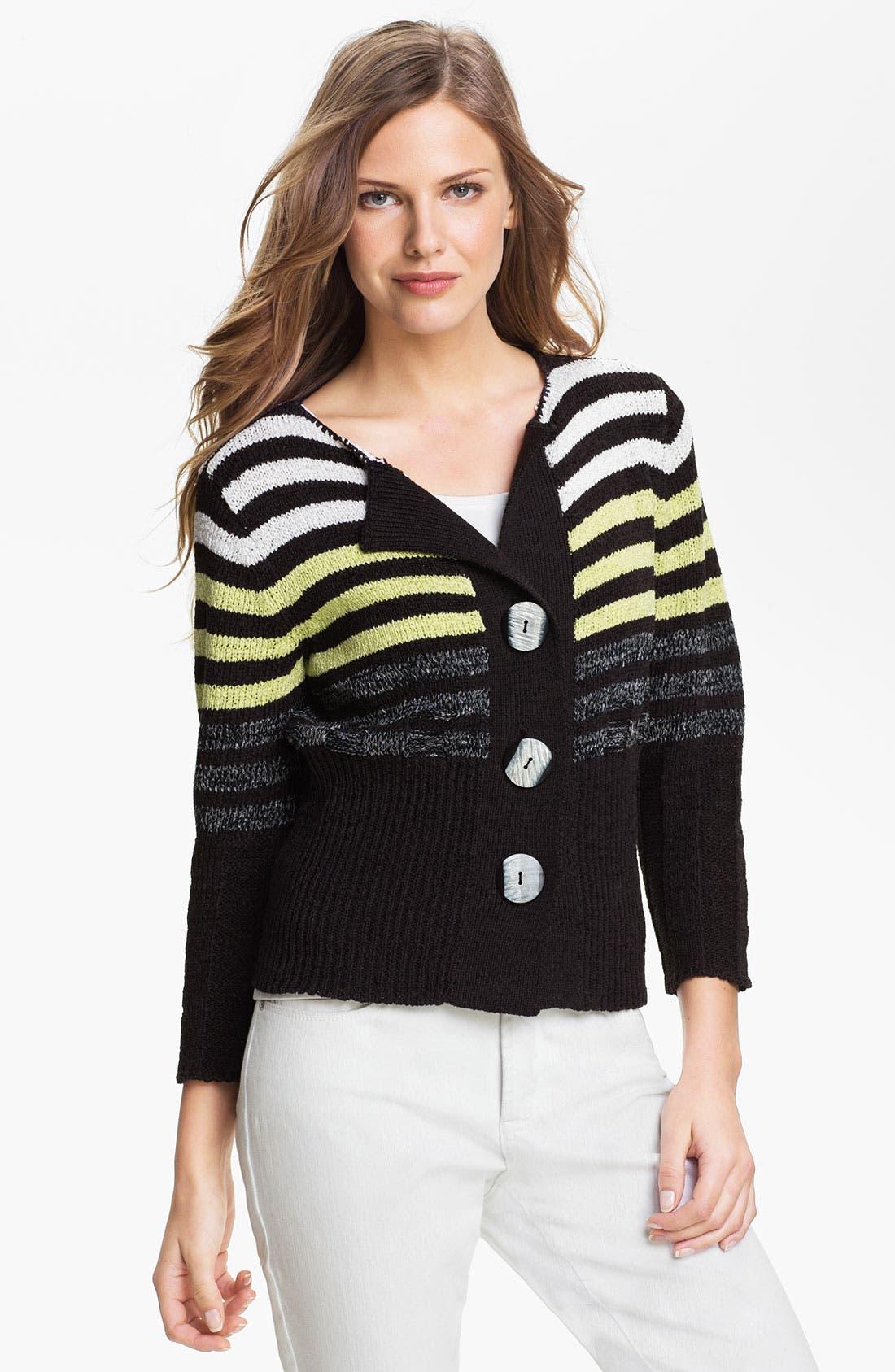 Alternate Image 1 Selected - Curio 'Bright Stripe' Cardigan