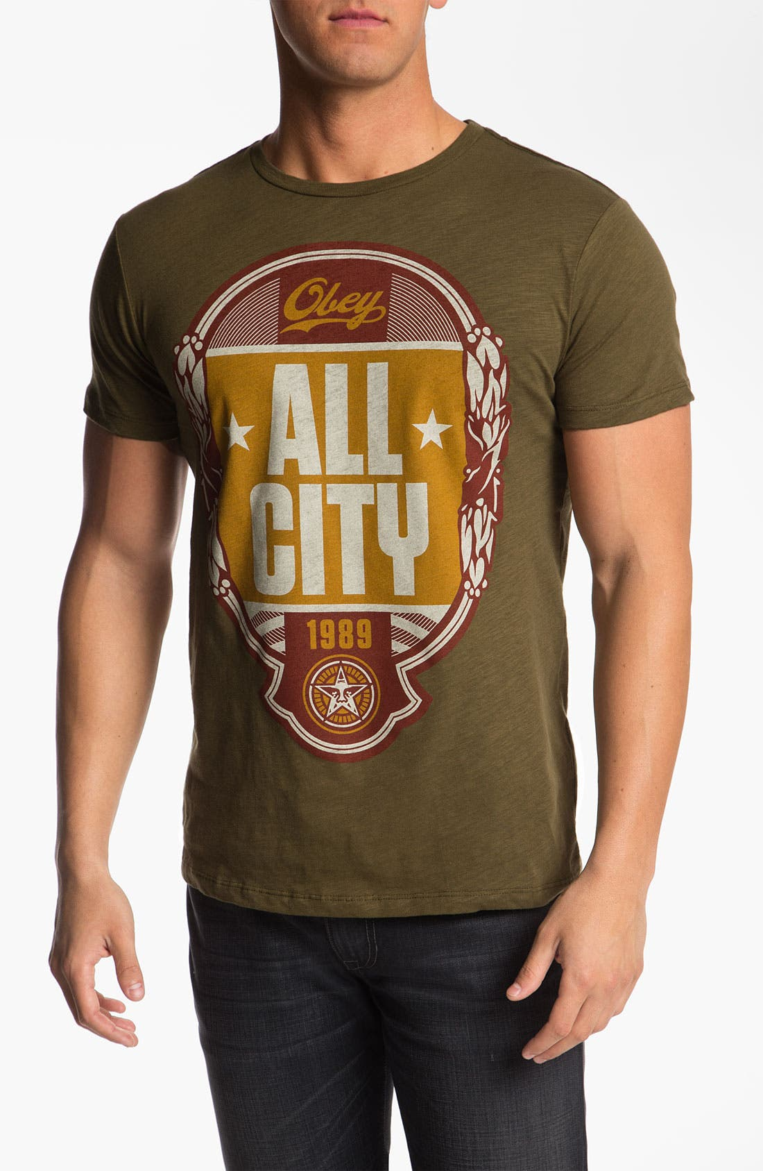 Alternate Image 1 Selected - Obey 'All City' Graphic T-Shirt