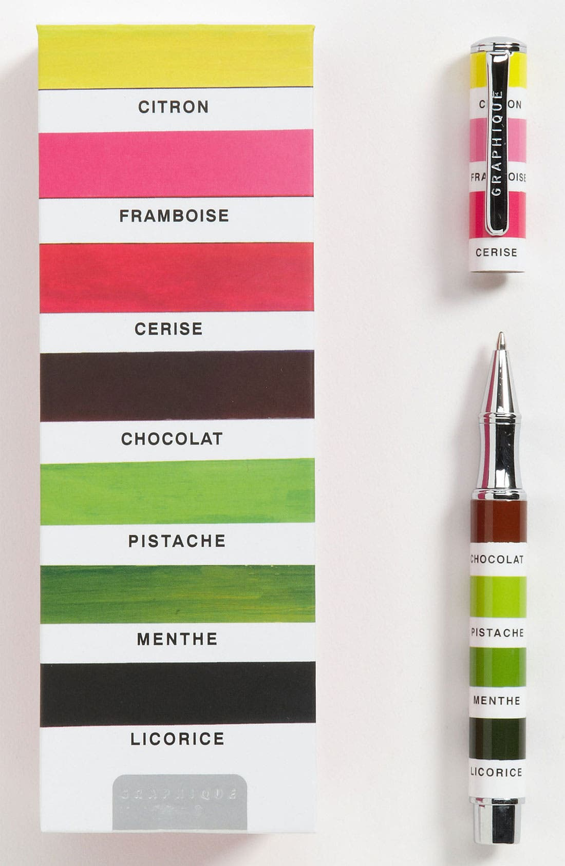 Main Image - Graphique de France 'Koco - Stripes' Rollerball Pen