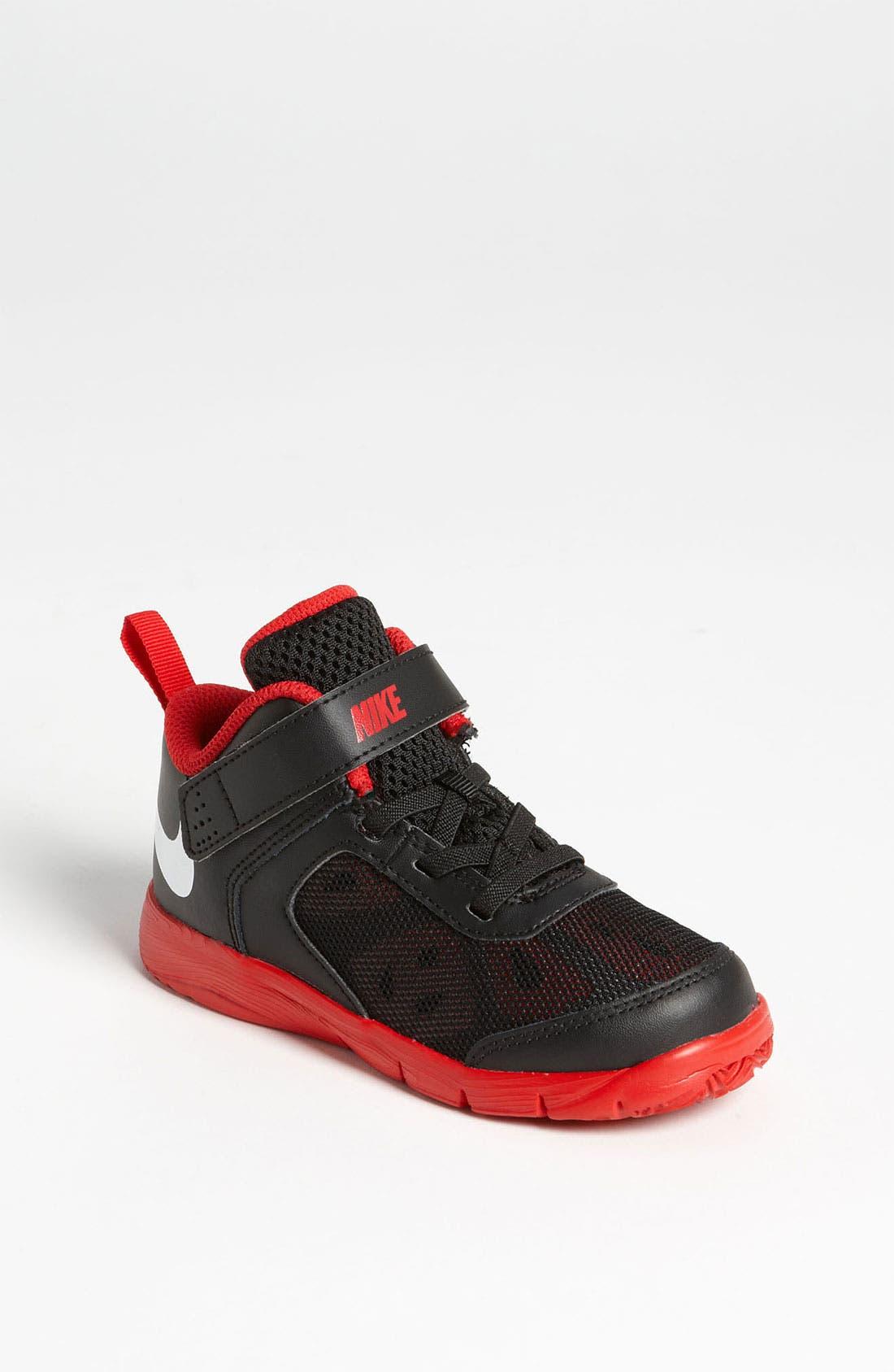 Alternate Image 1 Selected - Nike 'Fusion' Basketball Shoe (Baby, Walker, Toddler)