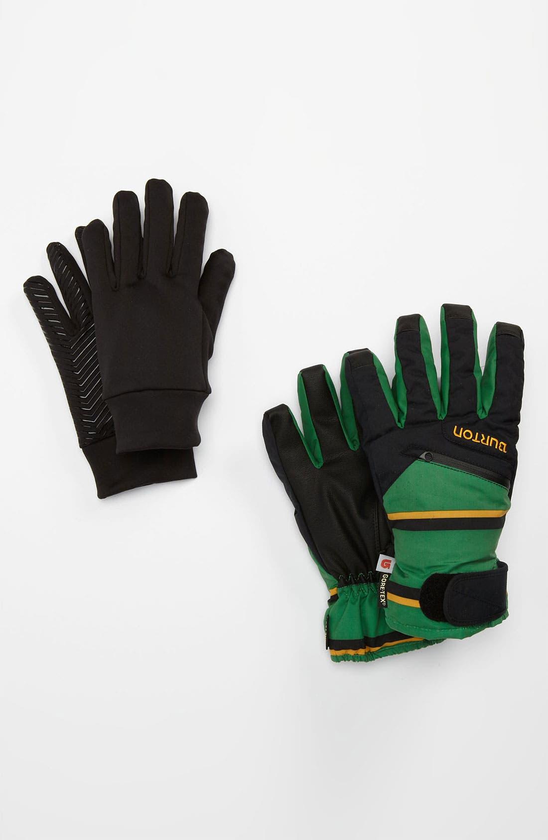 Alternate Image 1 Selected - Burton Gore-Tex® 3-In-1 Gloves