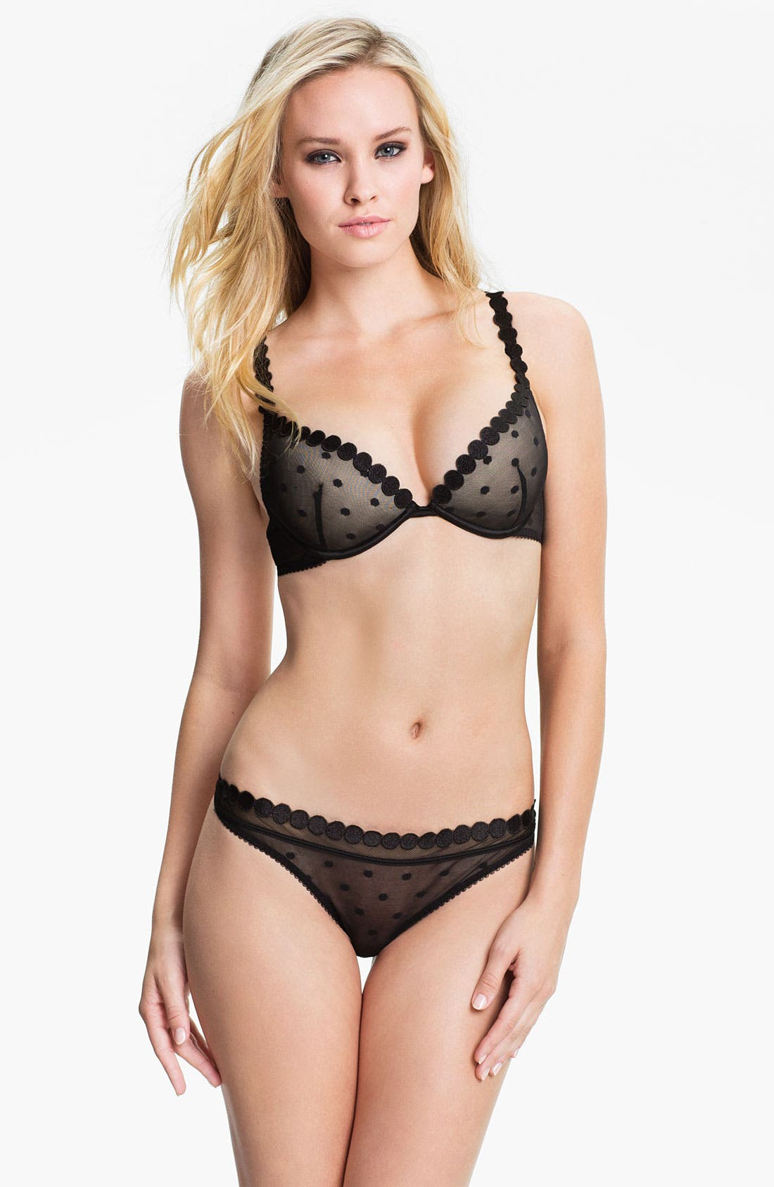 Alternate Image 4  - Stella McCartney 'Fiona Popping' Underwire Plunge Bra