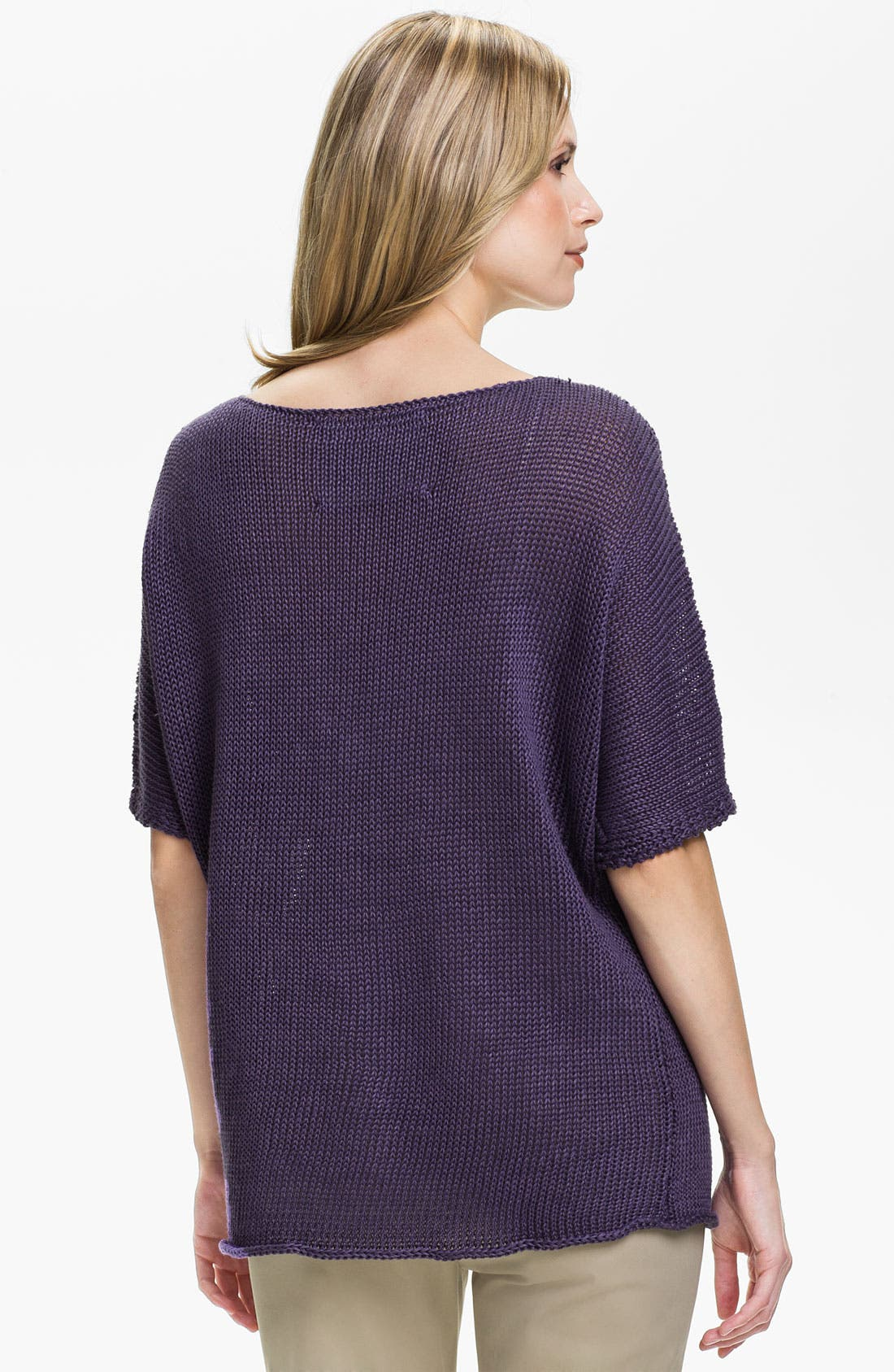 Alternate Image 2  - Lafayette 148 New York Elbow Sleeve Dolman Sweater