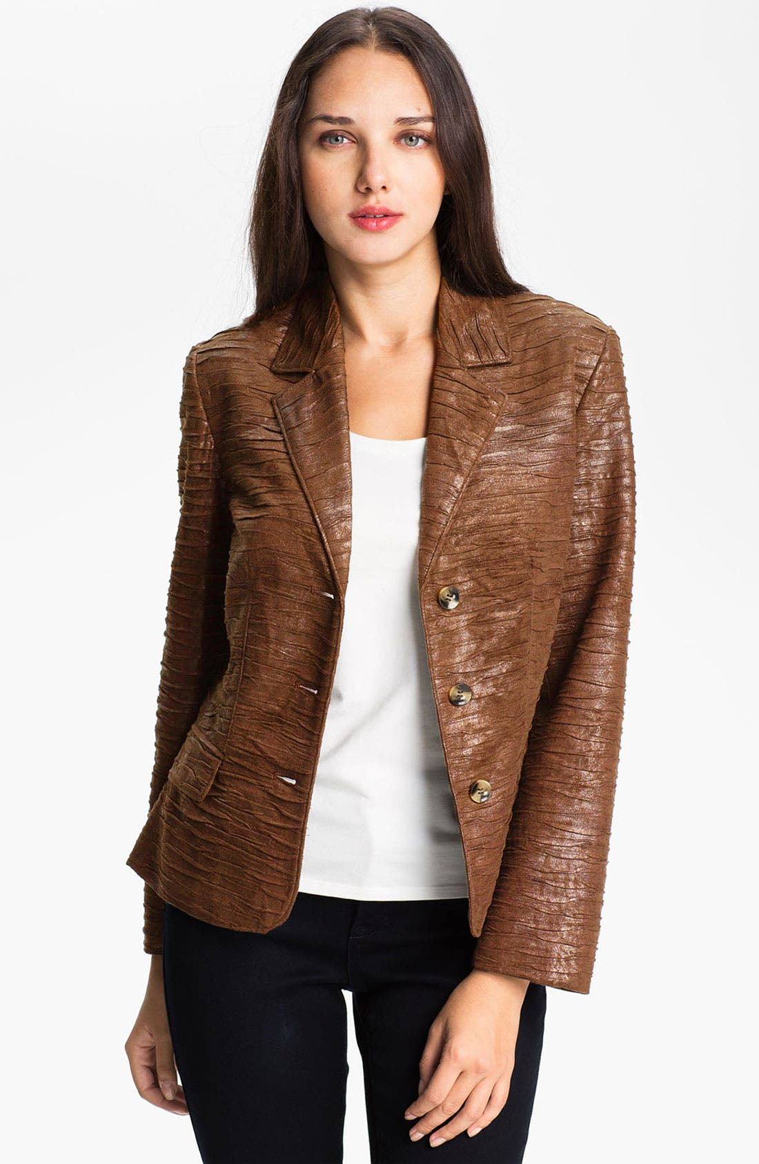 Alternate Image 4  - Conrad C Collection Crushed Faux Suede Jacket