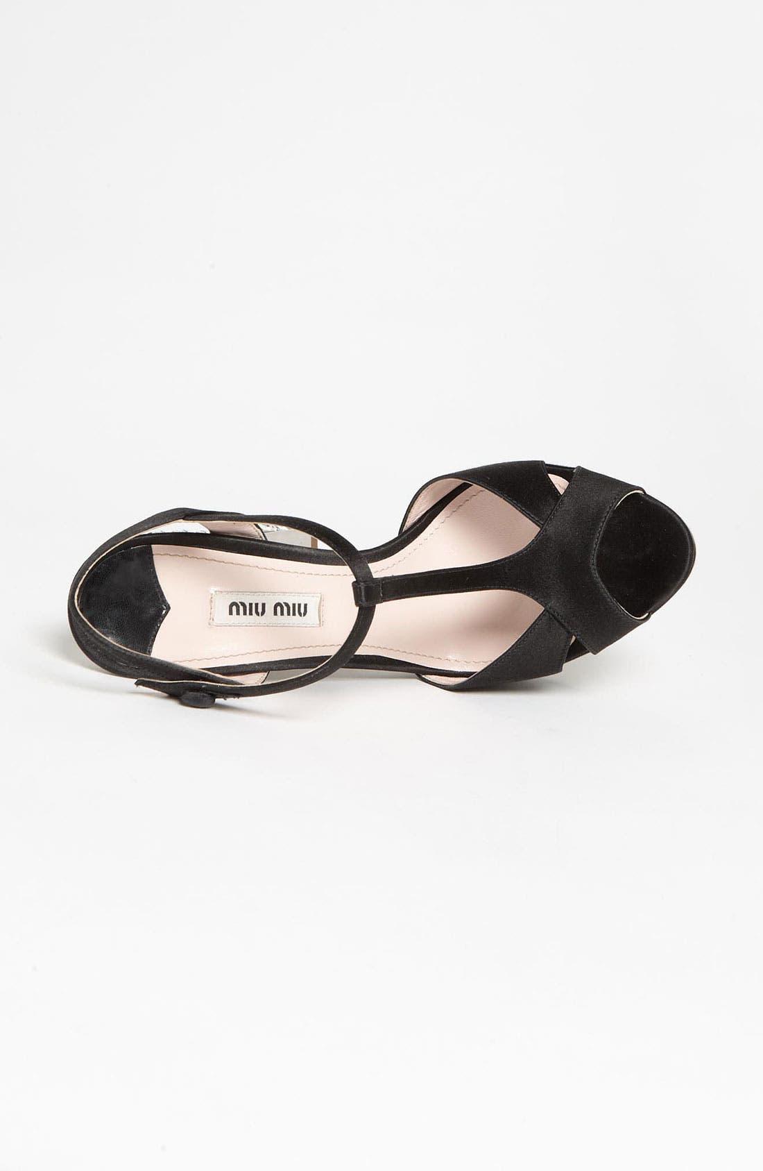 Alternate Image 3  - Miu Miu Crystal Heel Sandal