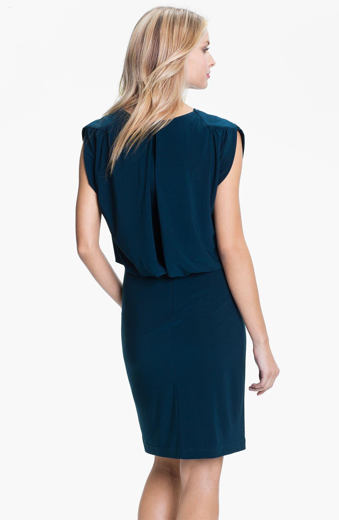 Alternate Image 2  - Adrianna Papell Draped Jersey Dress