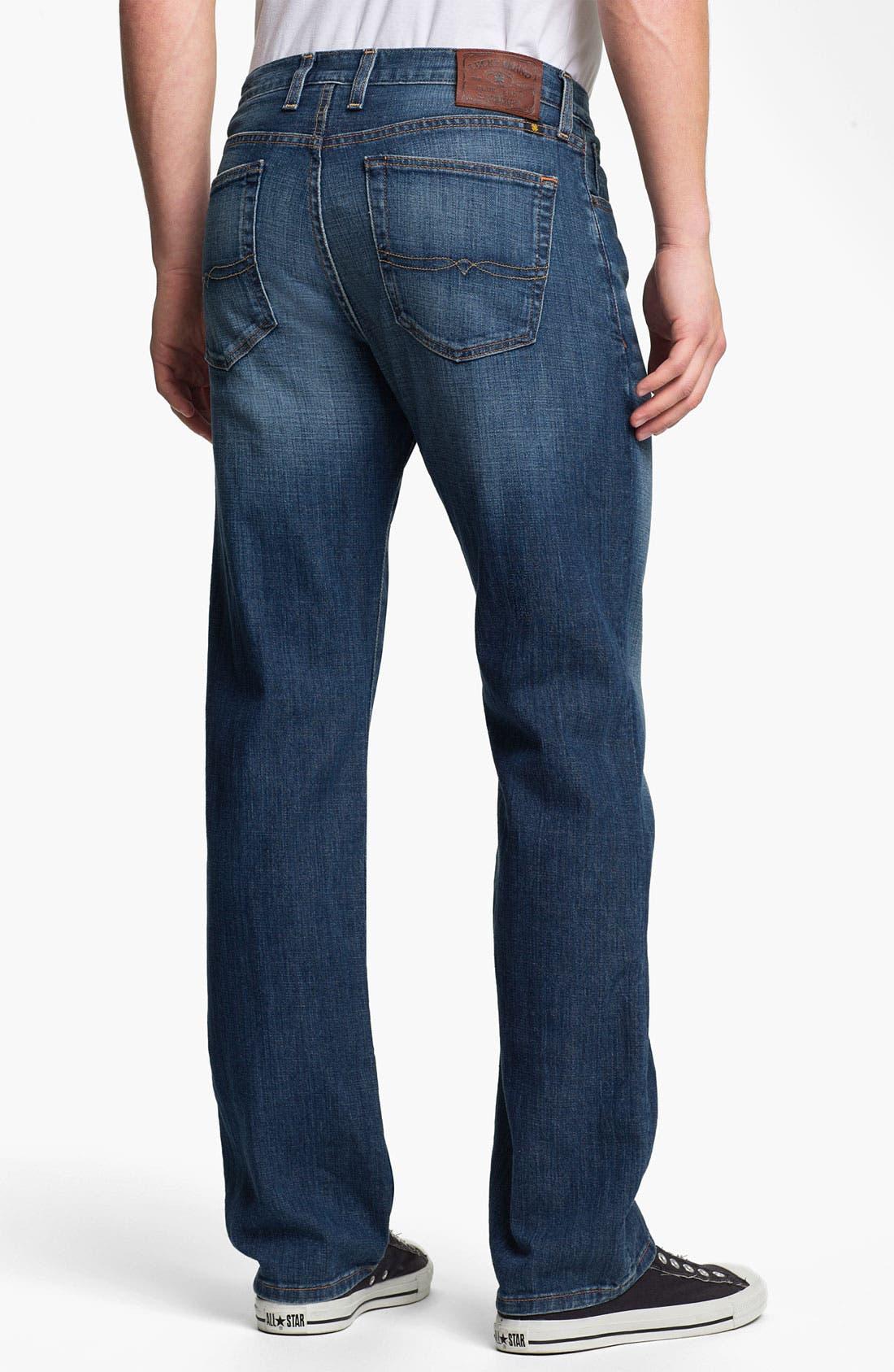 Alternate Image 2  - Lucky Brand '329 Classic' Straight Leg Jeans (Zenith Point)