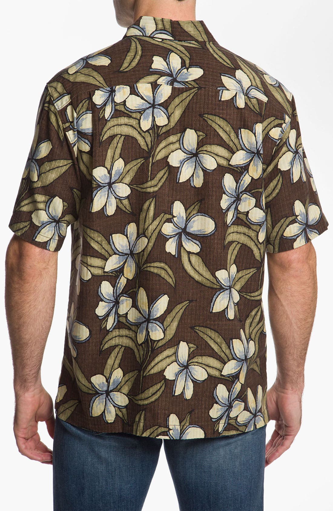 Alternate Image 2  - Tommy Bahama 'Coconut Retreat' Silk Campshirt