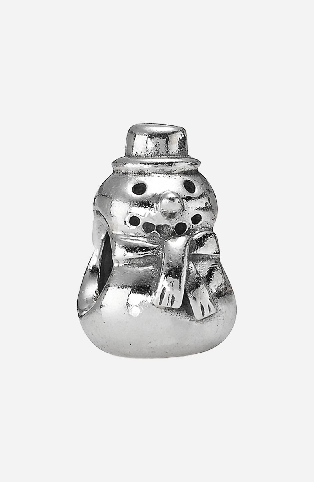 Alternate Image 1 Selected - PANDORA Snowman Charm