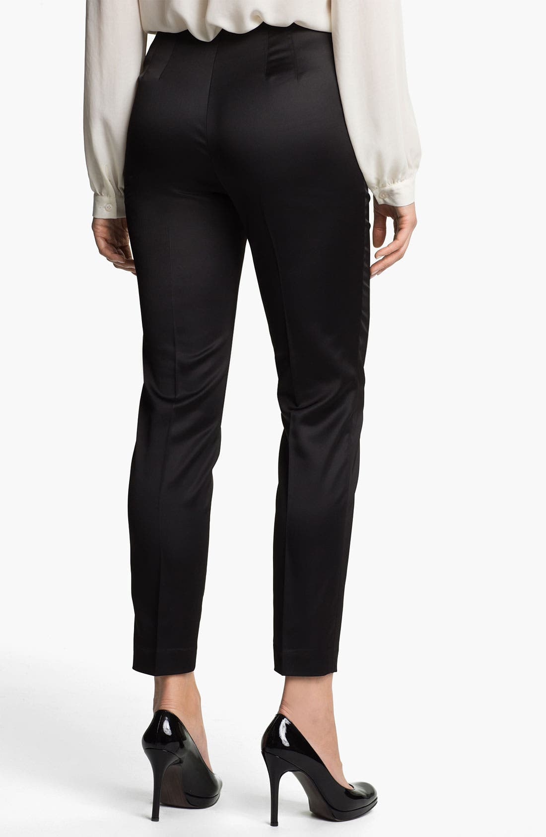 Alternate Image 2  - Vince Camuto Satin Ankle Pants