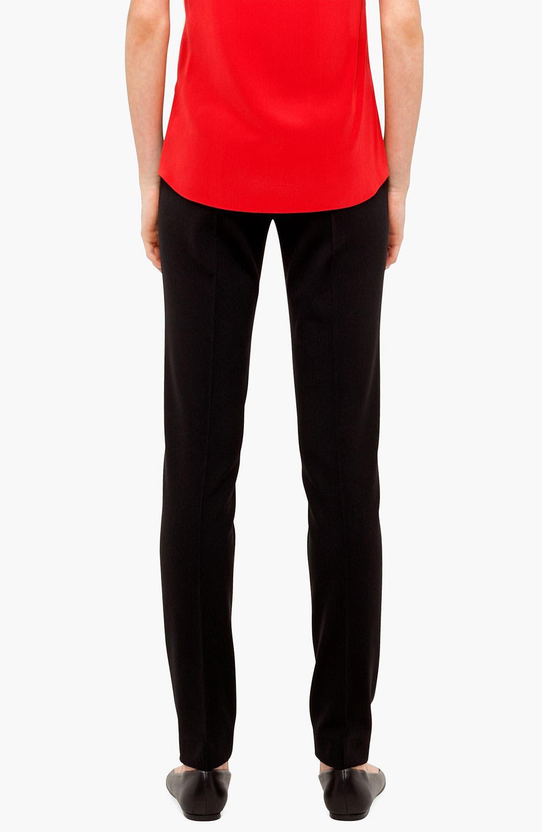 Alternate Image 2  - Akris punto 'Mara' Jersey Pants
