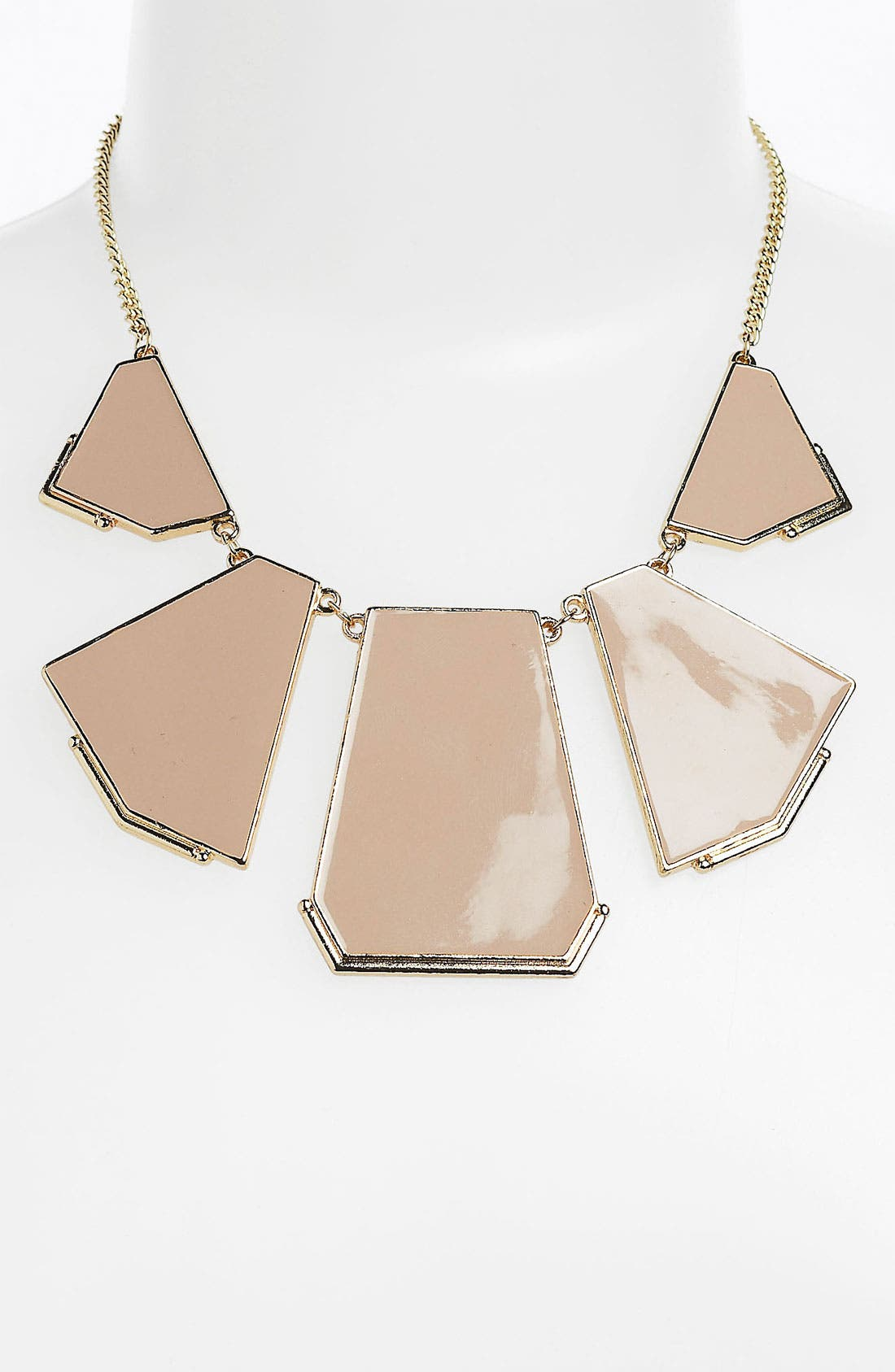 Main Image - Statements by DCK Geometric Bib Necklace