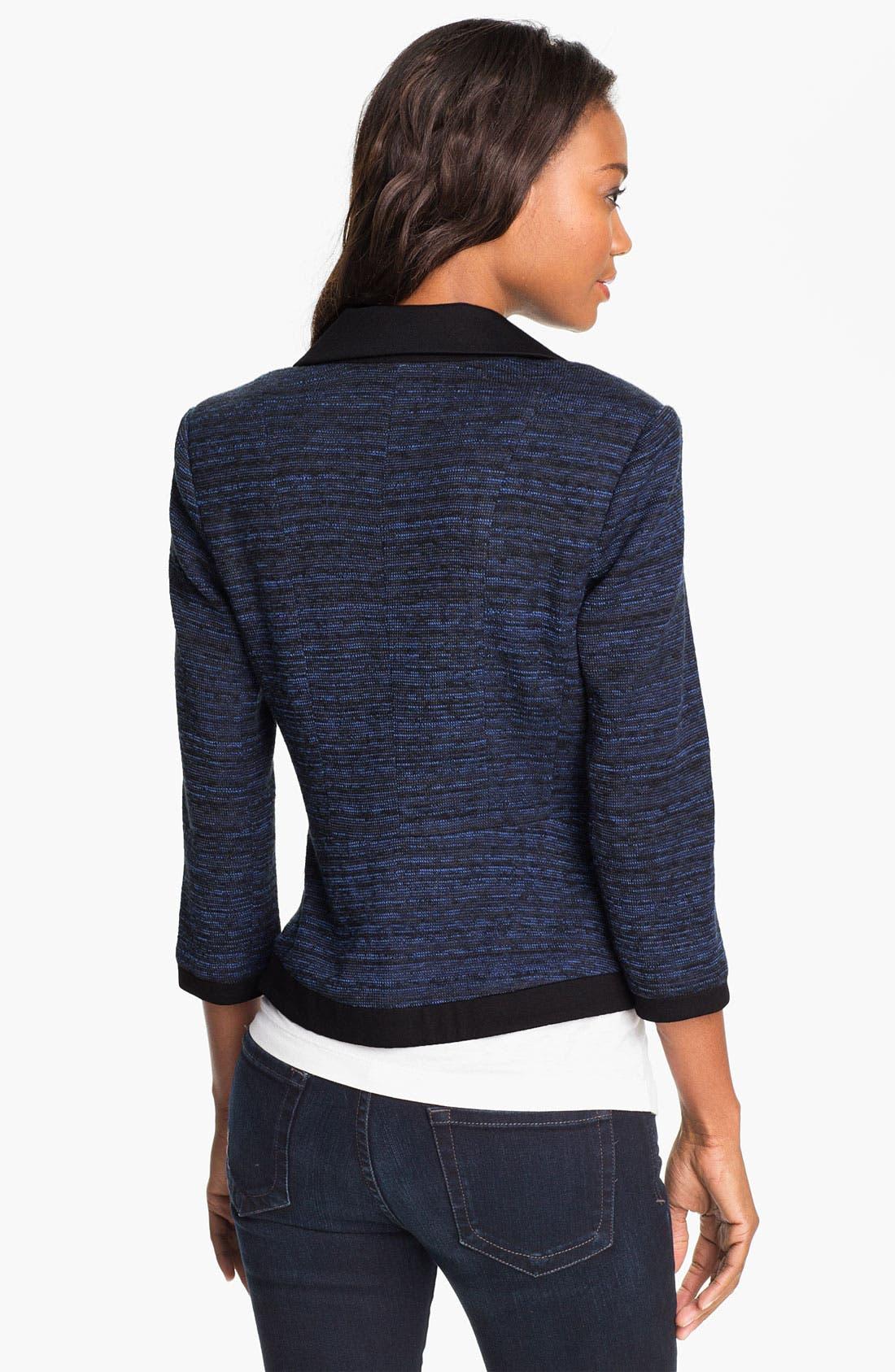 Alternate Image 2  - Halogen® Knit Blazer