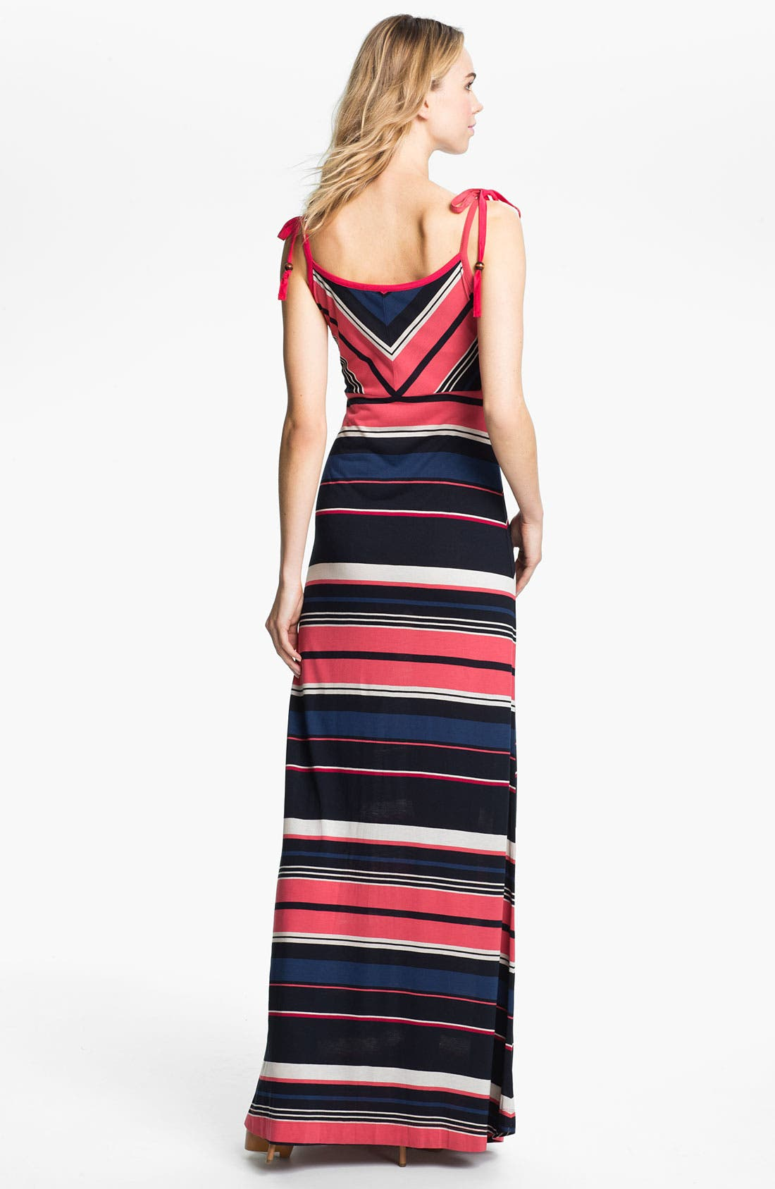 Alternate Image 2  - French Connection Stripe Maxi Dress