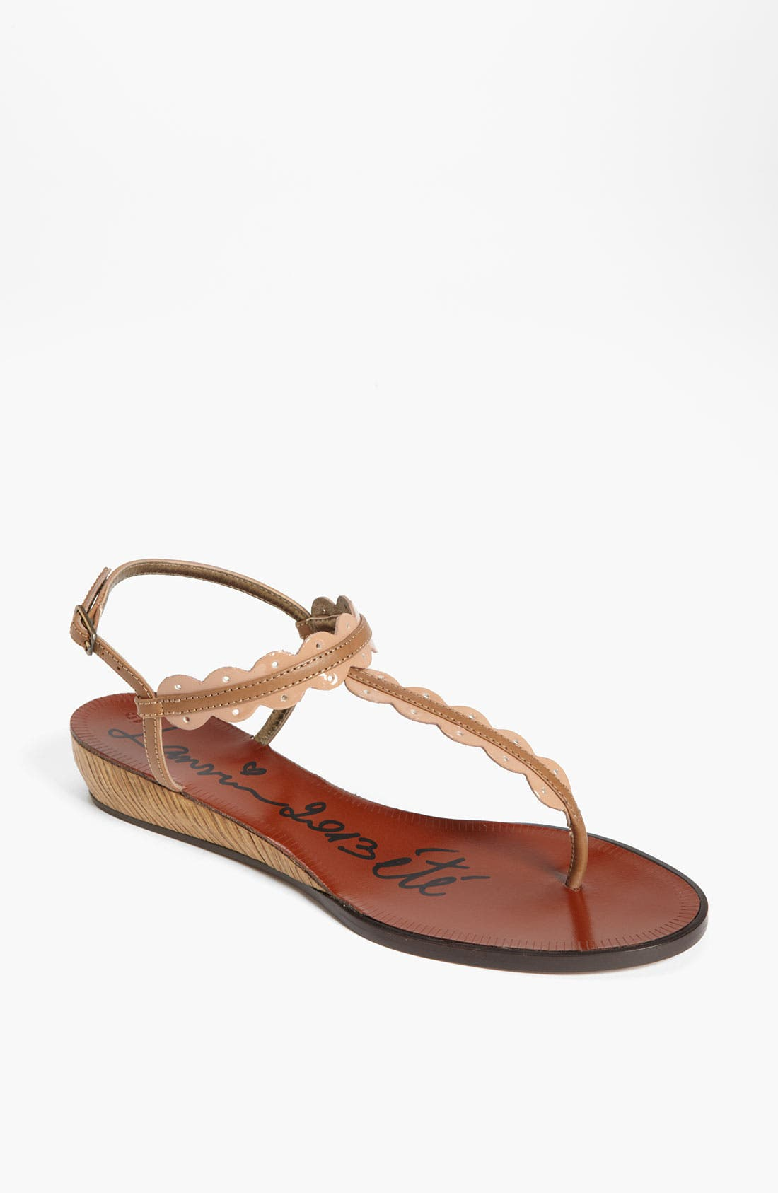 Alternate Image 1 Selected - Lanvin Mini Wedge Thong Sandal