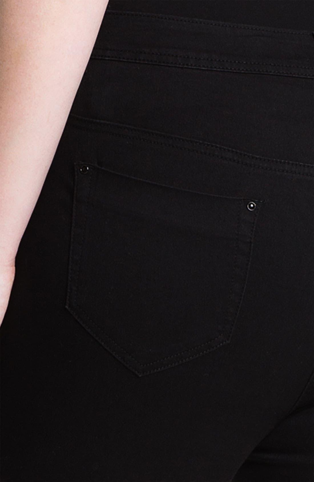 Alternate Image 6  - Evans 'Super Stretch' Jeans (Plus Size)