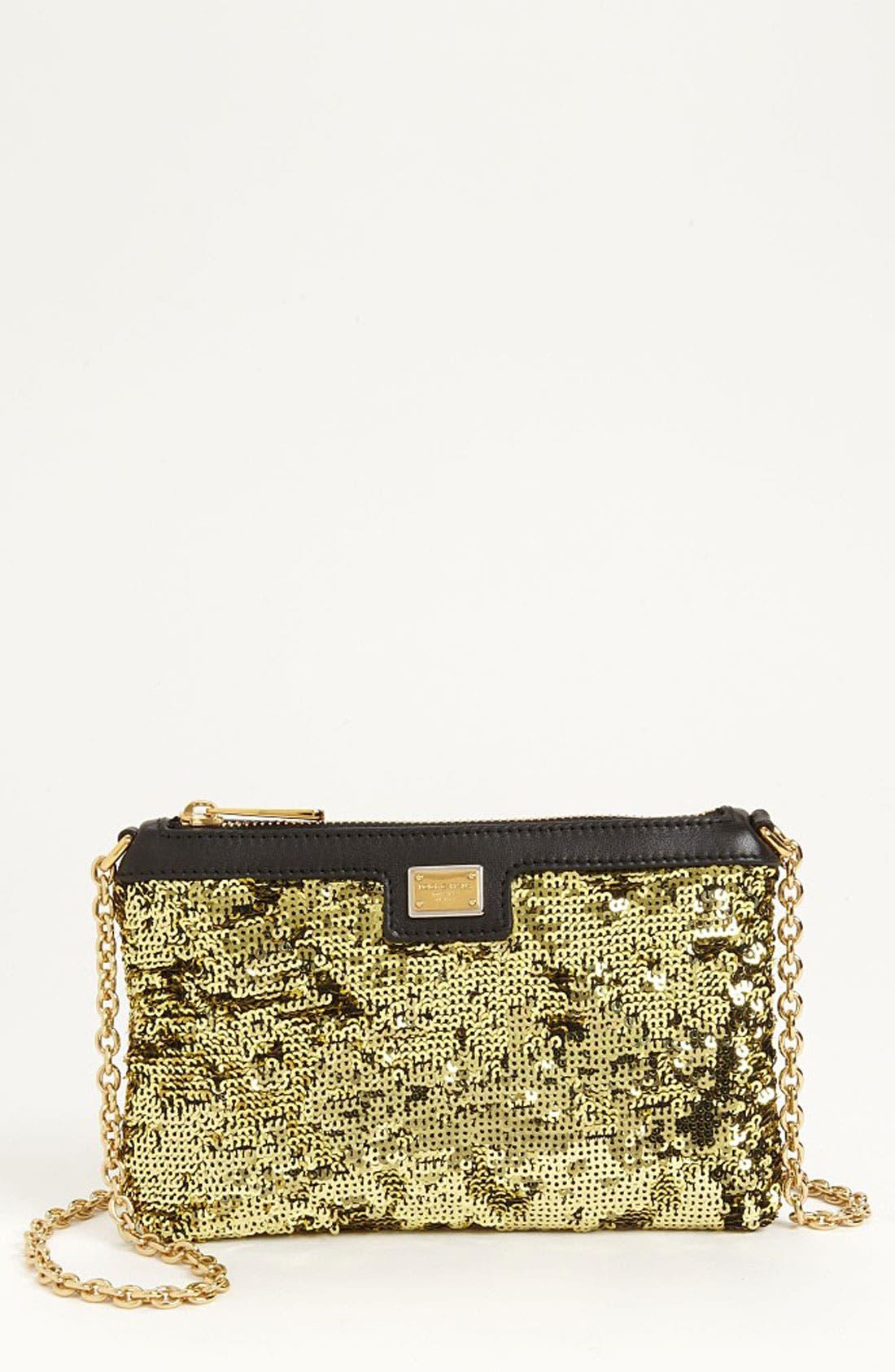Main Image - Dolce&Gabbana 'Miss Mini' Sequin Crossbody Bag