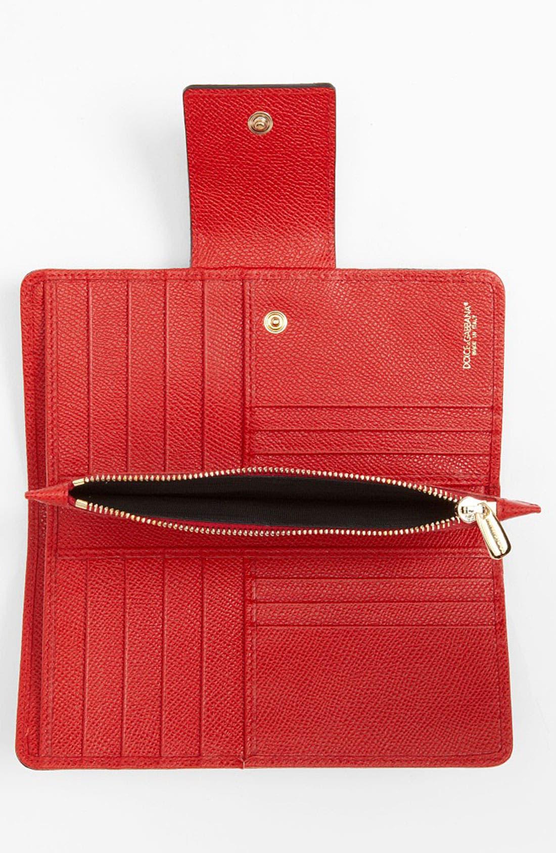 Alternate Image 3  - Dolce&Gabbana Continental Wallet