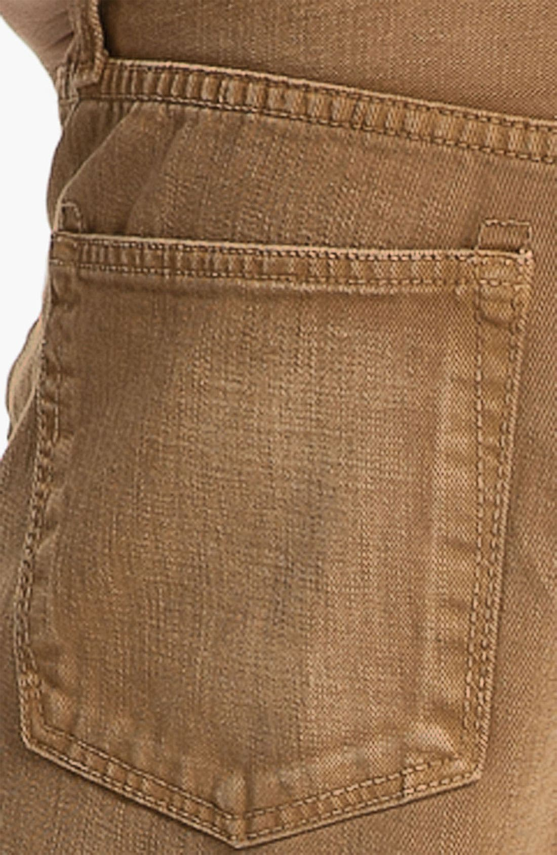 Alternate Image 4  - J Brand 'Kane' Slim Straight Leg Jeans (Weathered Timber) (Save Now through 12/9)