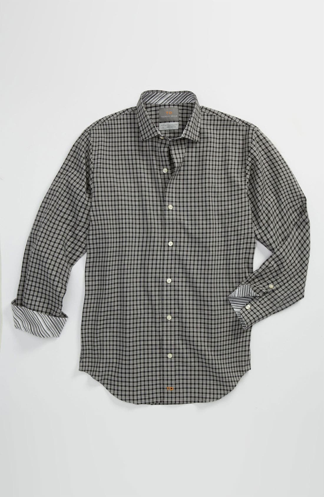 Alternate Image 1 Selected - Thomas Dean Dress Shirt (Big Boys)