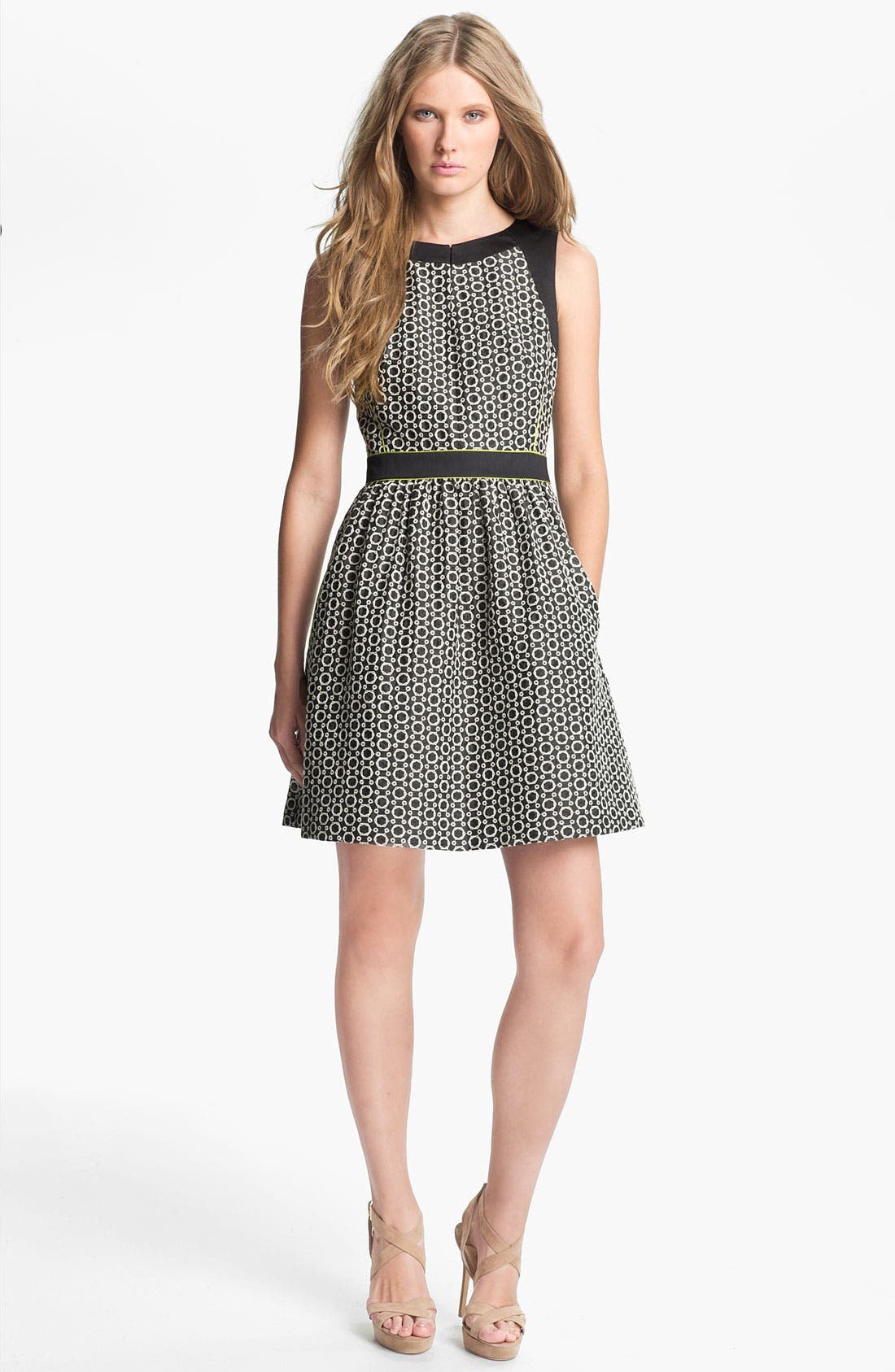 Main Image - Mcginn Sleeveless Fit & Flare Dress