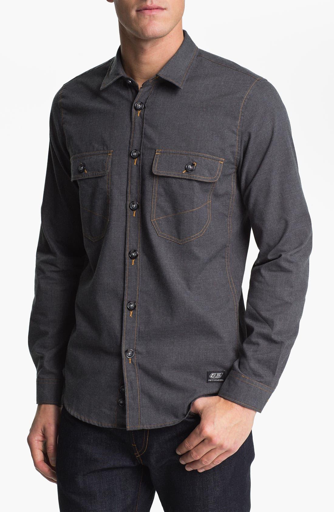 Alternate Image 1 Selected - 55DSL 'Santos' Woven Shirt
