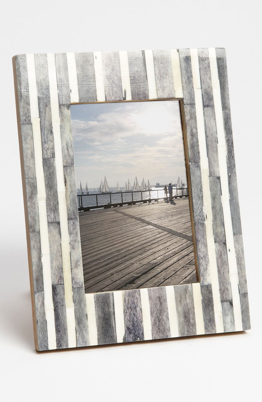 Alternate Image 1 Selected - Pinstripe Picture Frame (4x6)