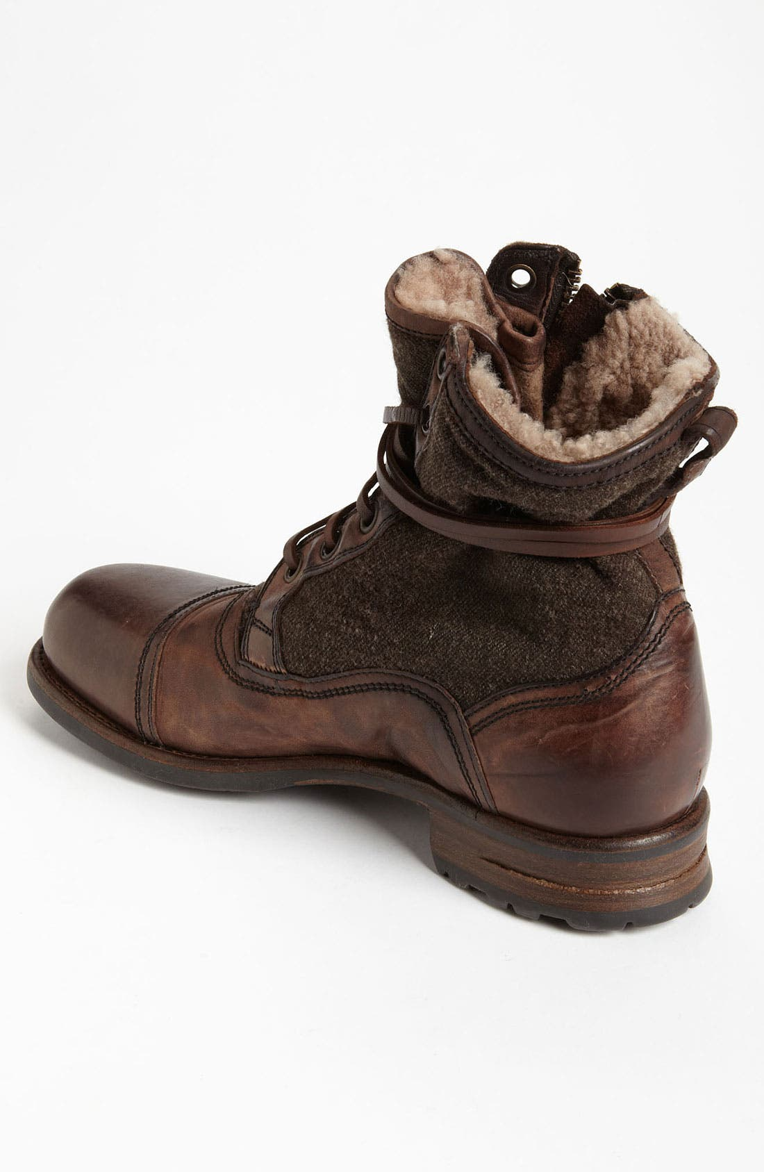 Alternate Image 2  - UGG® Collection 'Tonio' Cap Toe Boot (Men)