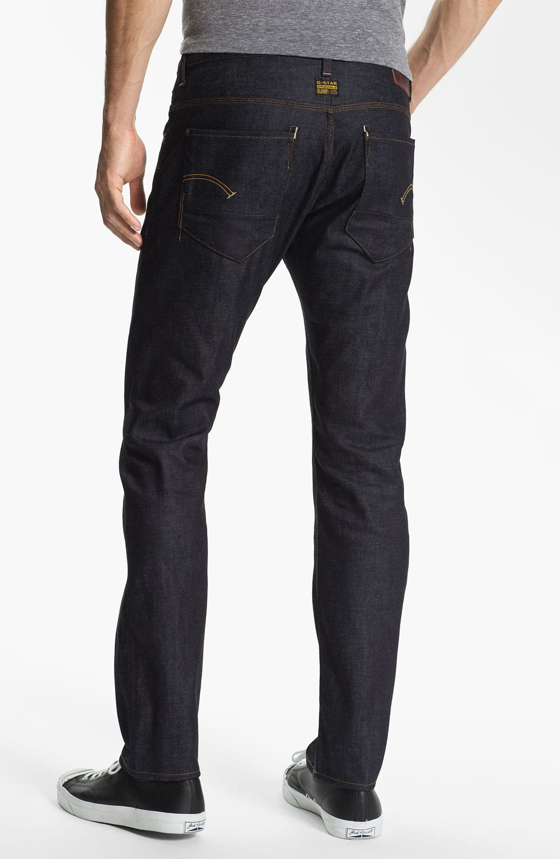 Alternate Image 1 Selected - G-Star Raw 'New Radar' Slim Straight Leg Jeans (Rigid Raw)