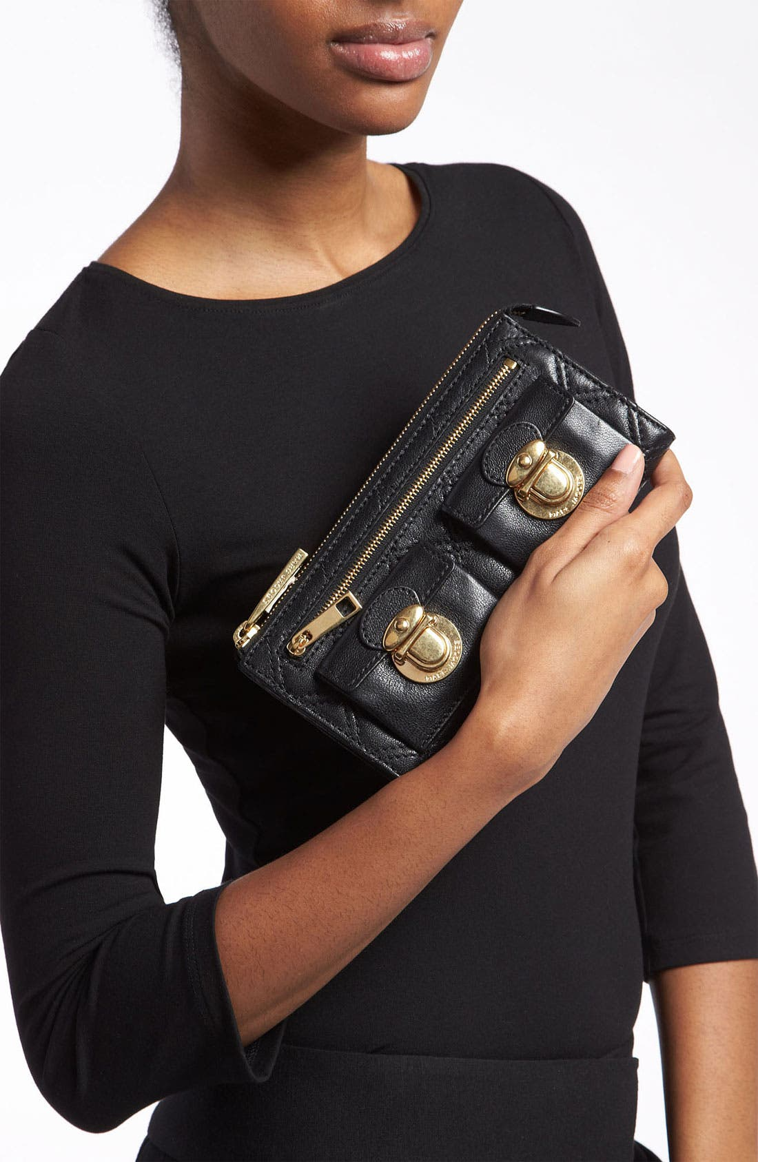 Alternate Image 3  - MARC JACOBS Zip Clutch Wallet