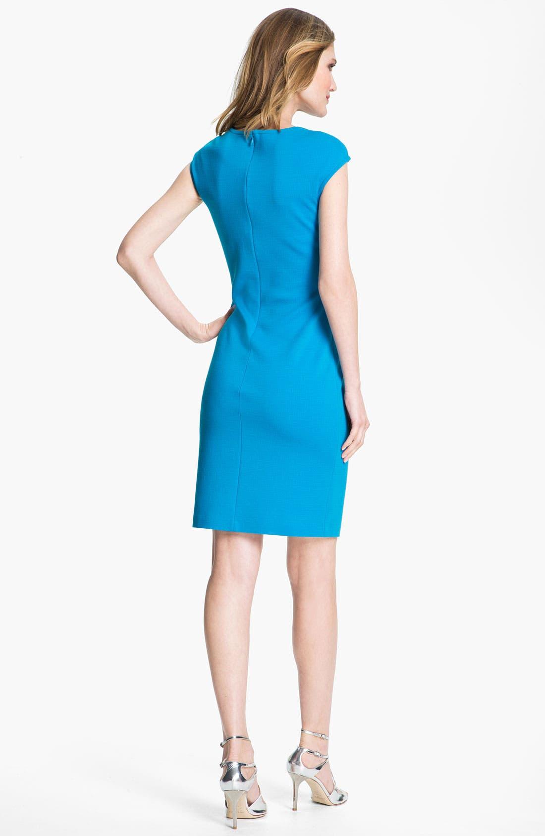 Alternate Image 3  - St. John Collection Milano Knit Sheath Dress