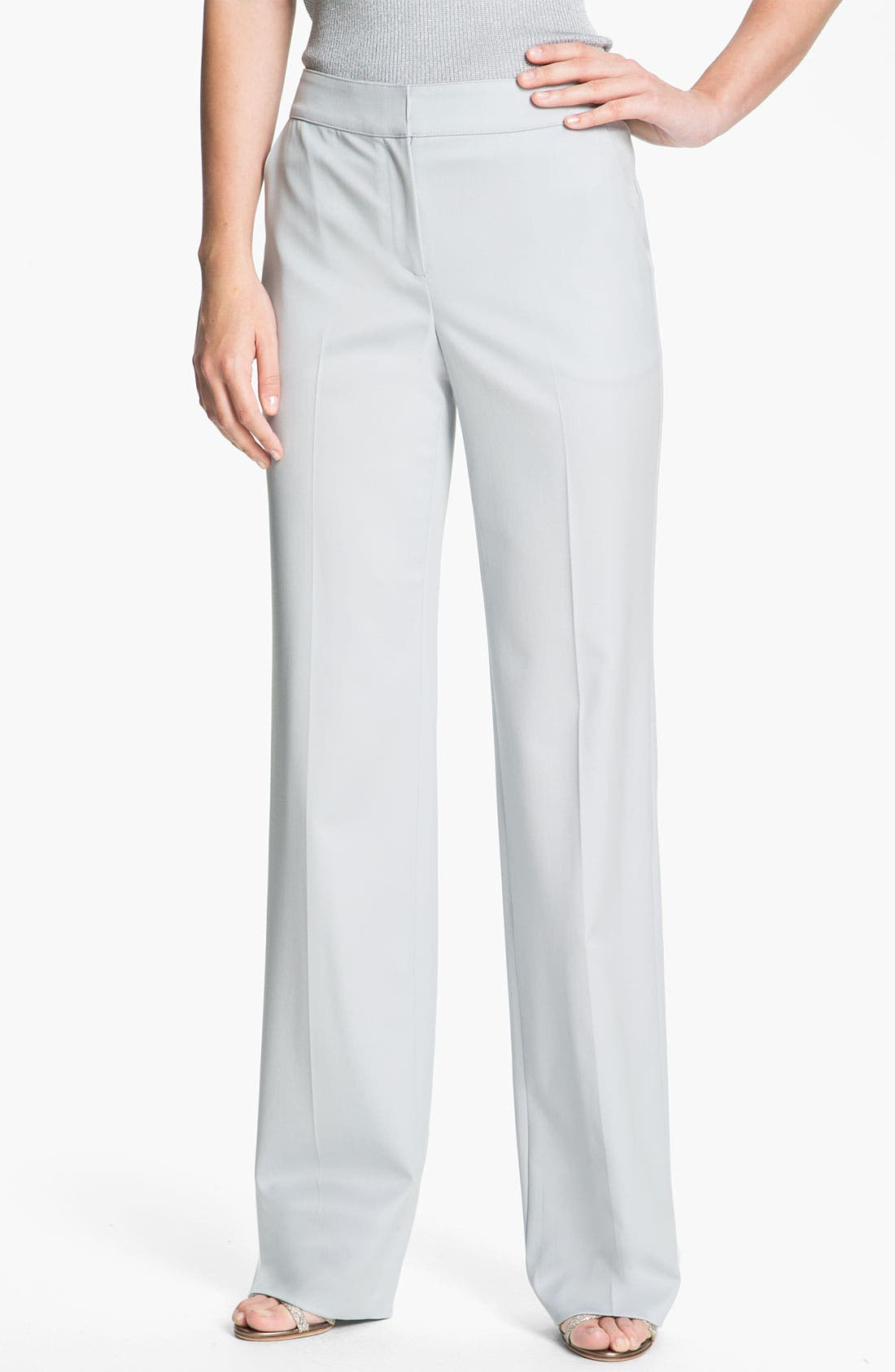 Alternate Image 2  - St. John Collection Venetian Wool Pants