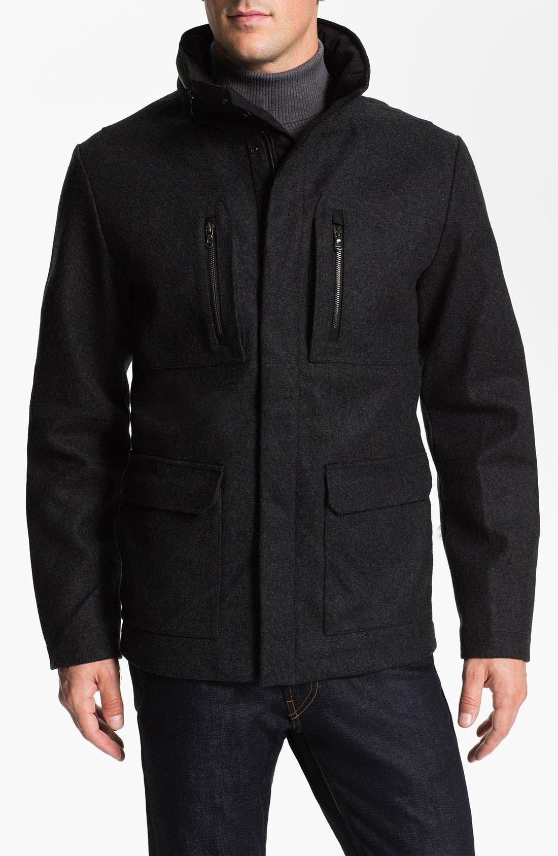 Alternate Image 1 Selected - Victorinox Swiss Army® 'Explorer' Wool Blend Jacket