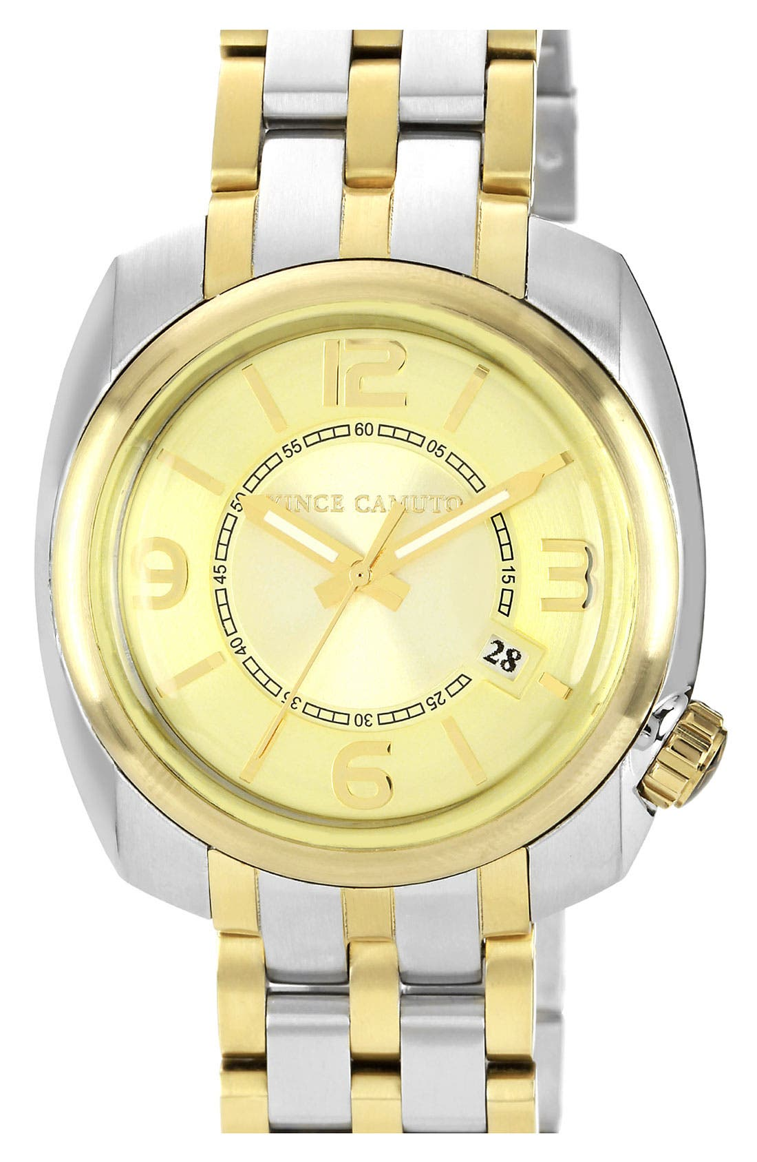Alternate Image 1 Selected - Vince Camuto Square Case Bracelet Watch, 42mm