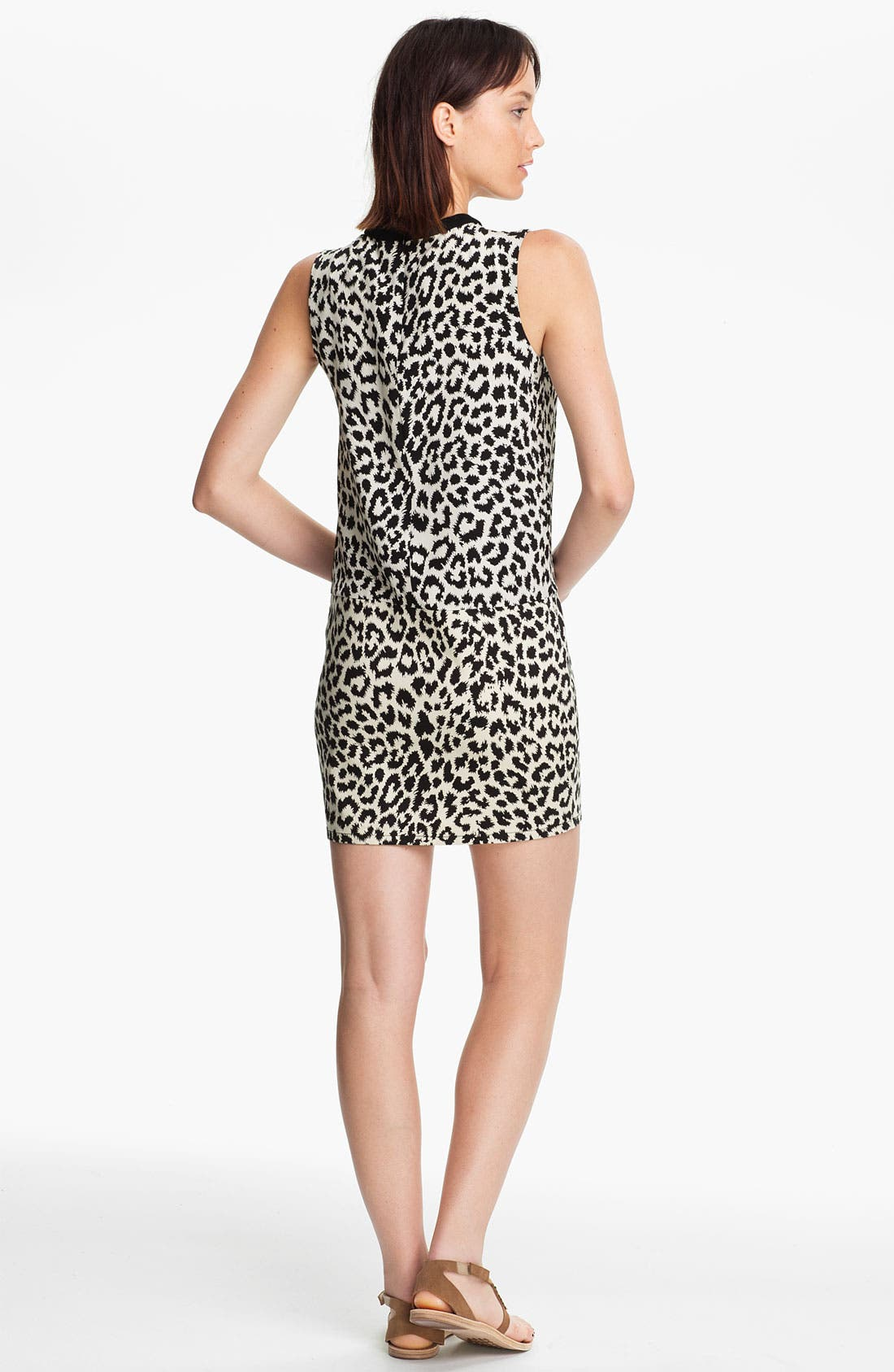 Alternate Image 2  - Thakoon Addition Leopard Print Dress