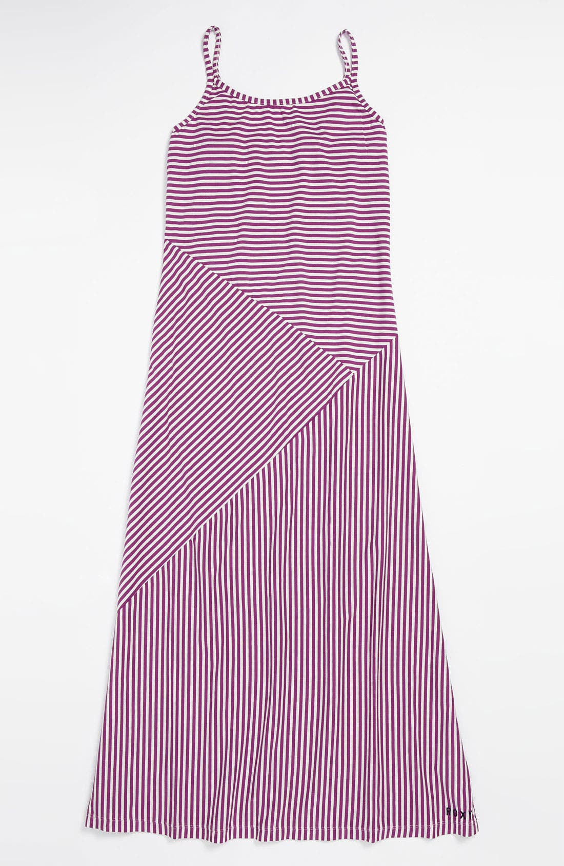Alternate Image 1 Selected - Stripe Maxi Dress (Big Girls)