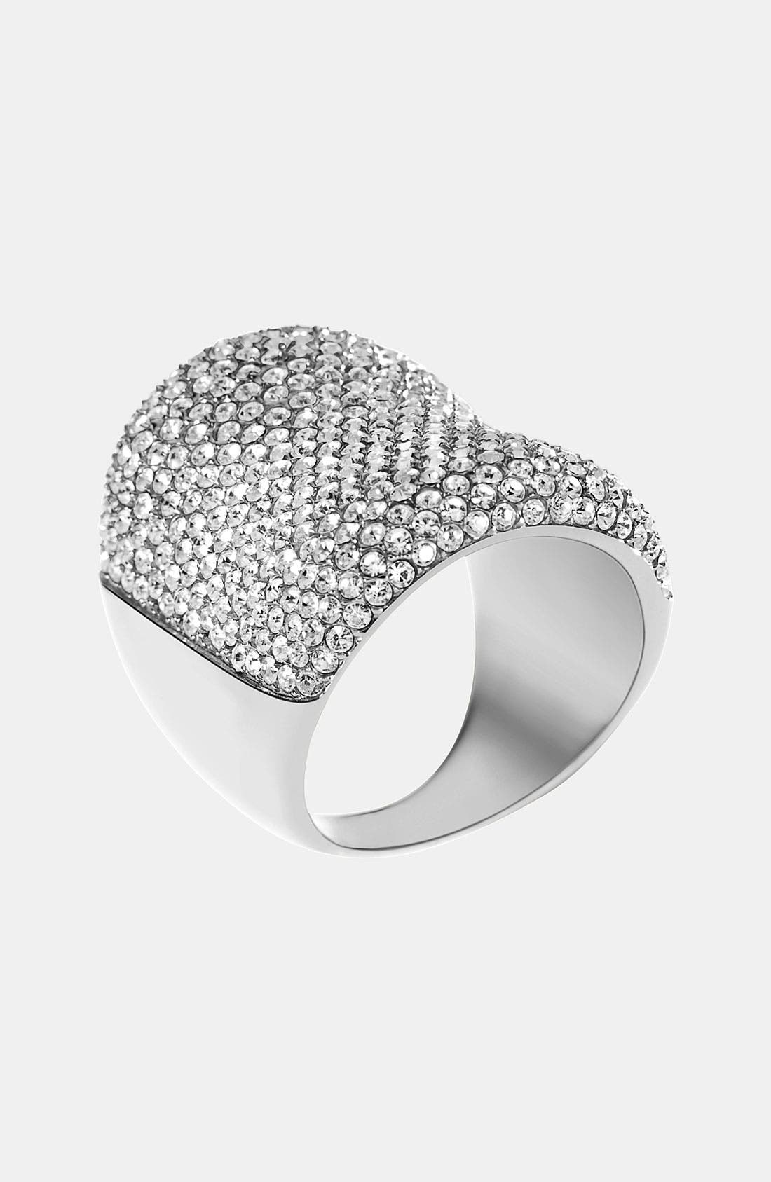 Alternate Image 1 Selected - Michael Kors 'Brilliance' Saddle Ring