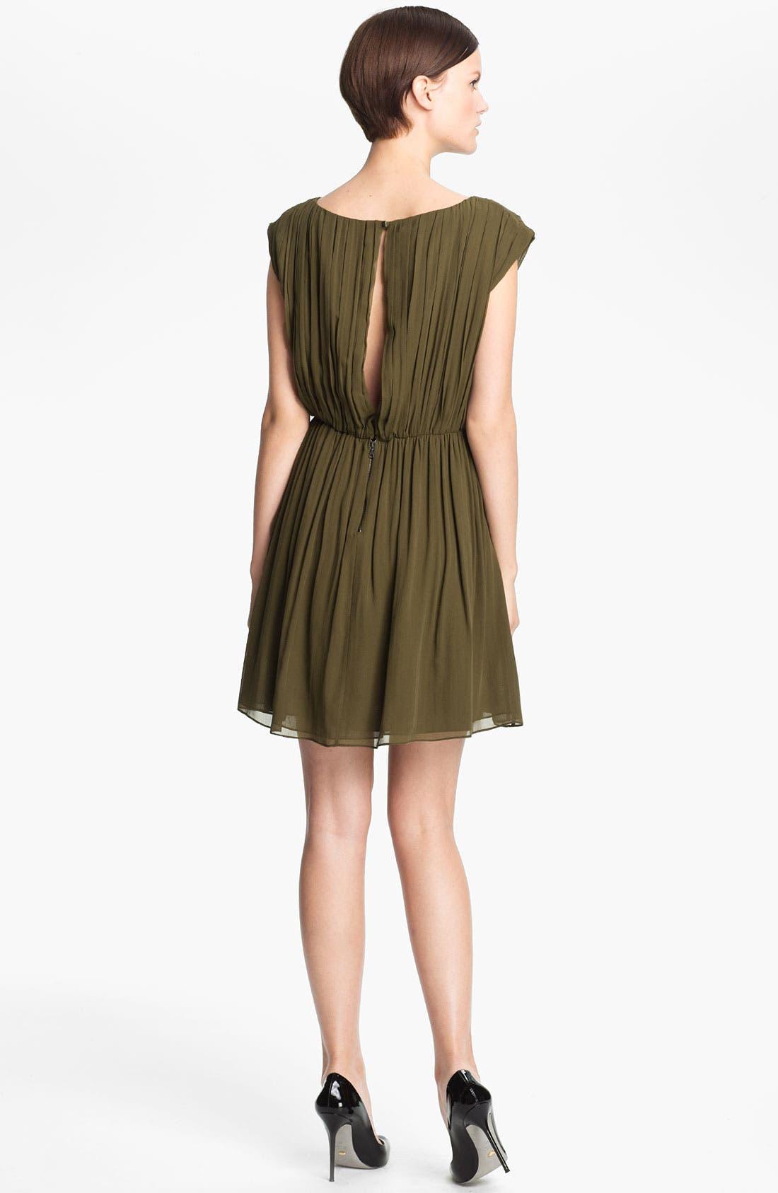 Alternate Image 2  - Alice + Olivia 'Josie' Ruched Blouson Dress