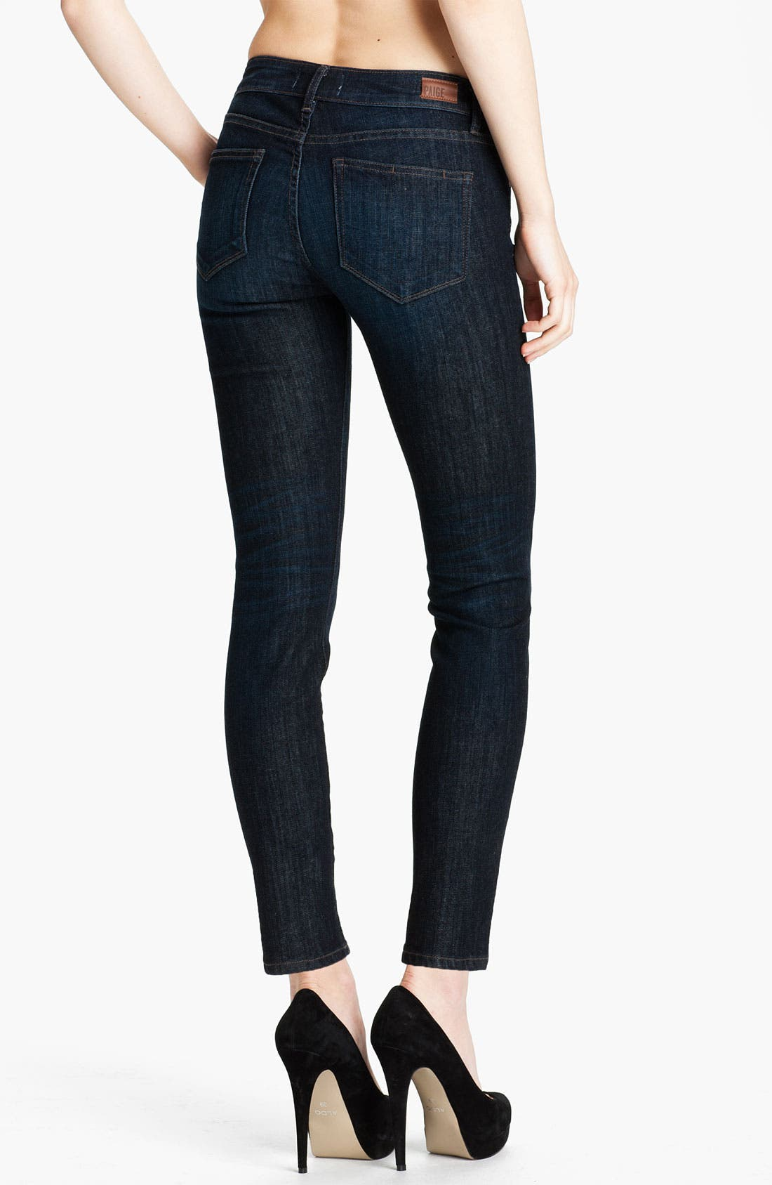 Alternate Image 2  - Paige Denim 'Skyline' Ankle Peg Skinny Stretch Jeans (Hartley)
