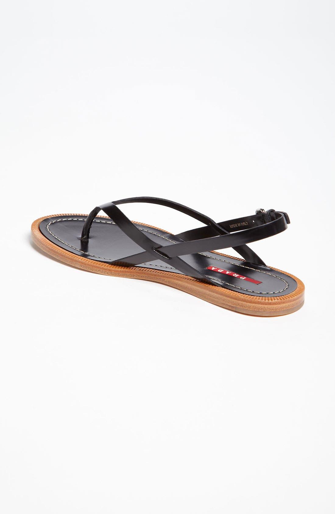 Alternate Image 2  - Prada Flat Sandal