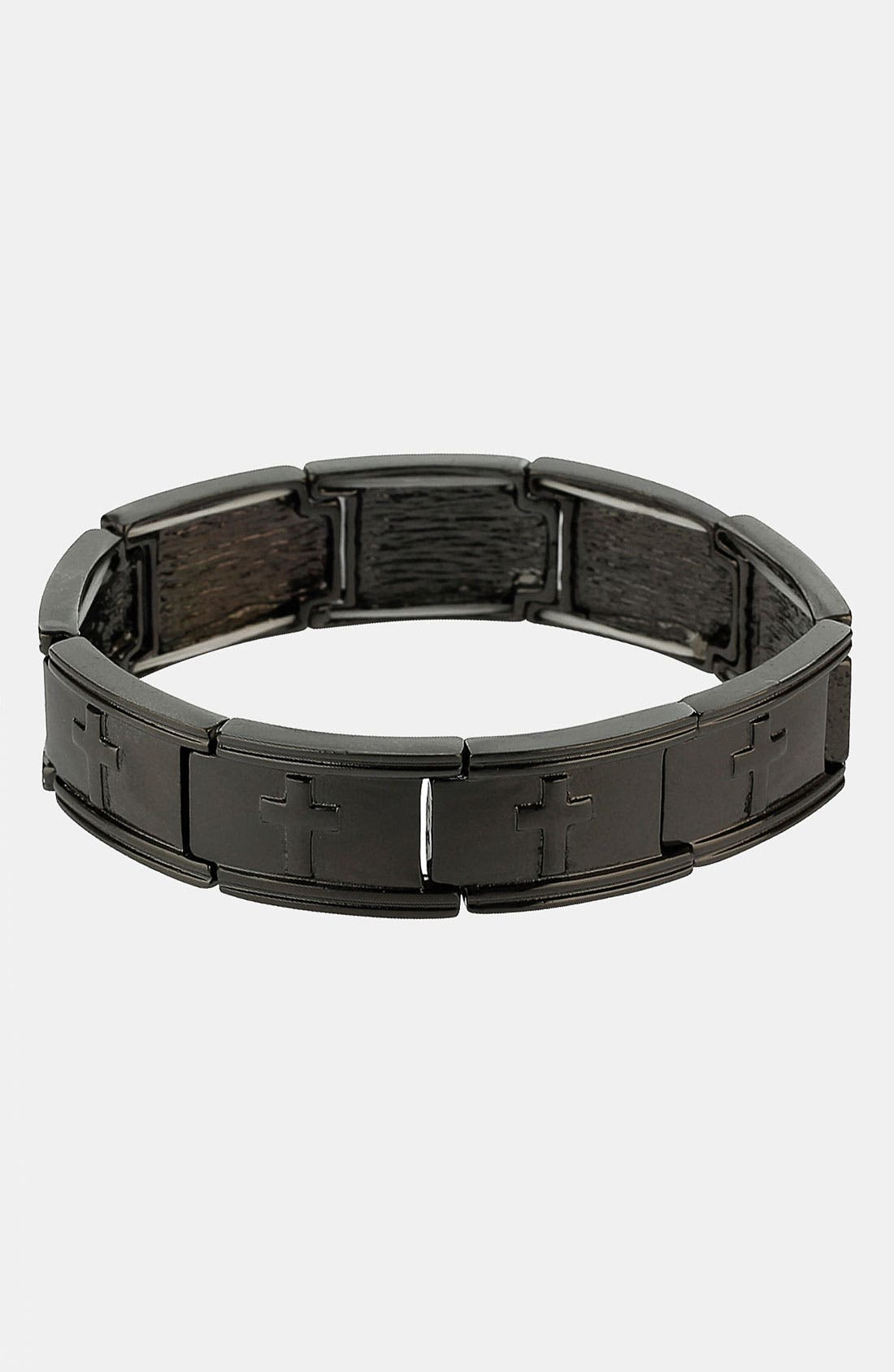 Alternate Image 1 Selected - Topman Cross Bracelet