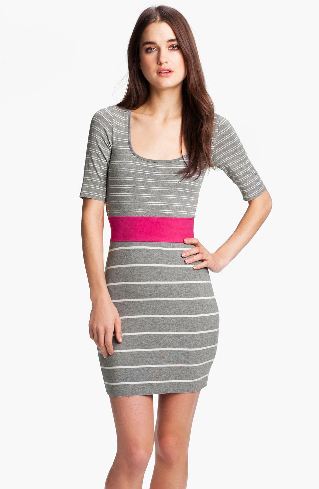 Alternate Image 1 Selected - B44 Dressed by Bailey 44 'Synchronized Diving' Stripe Sweater Dress